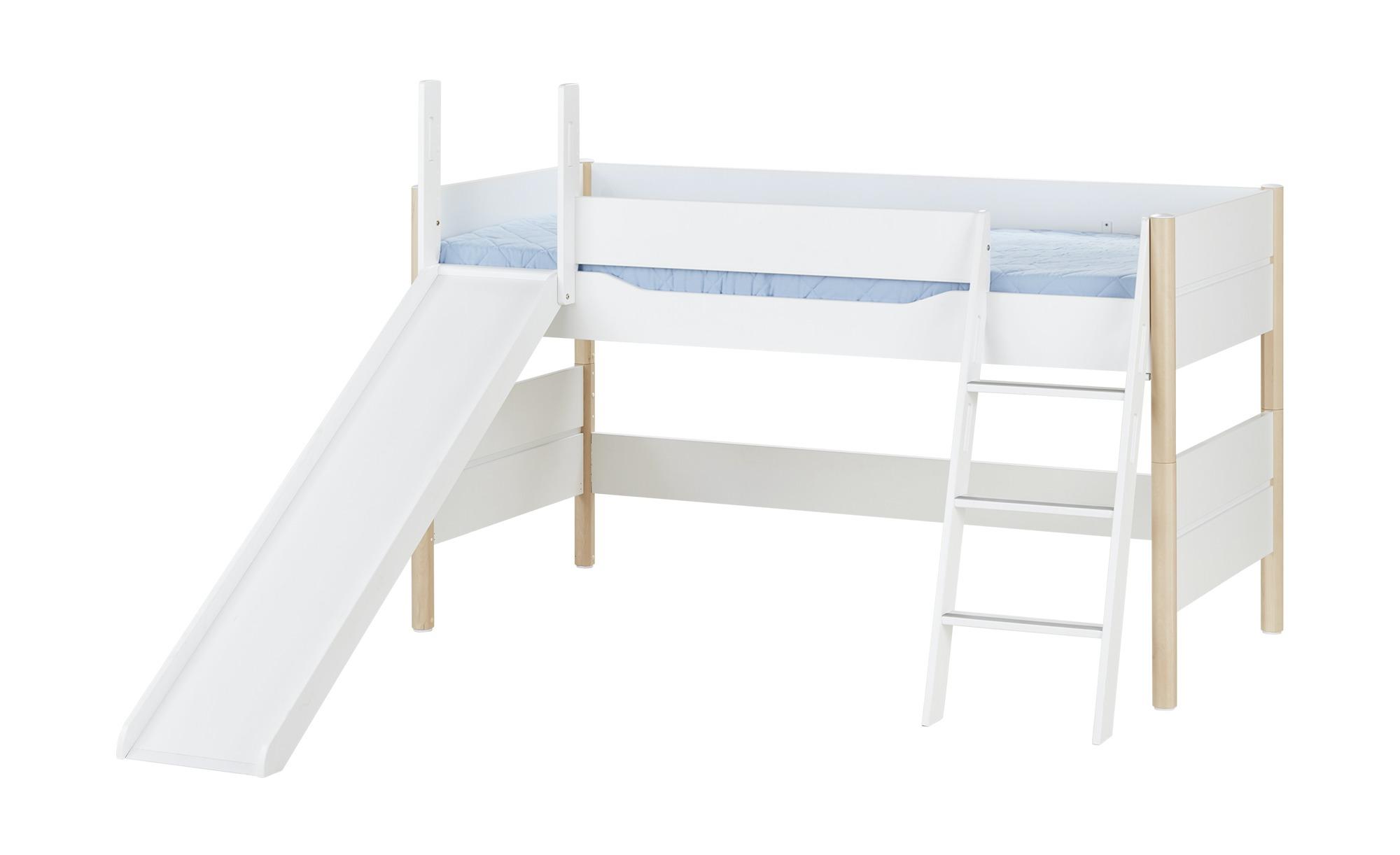 PAIDI Spielbett mit Rutsche 90x200 weiß Ylvie | Höffner