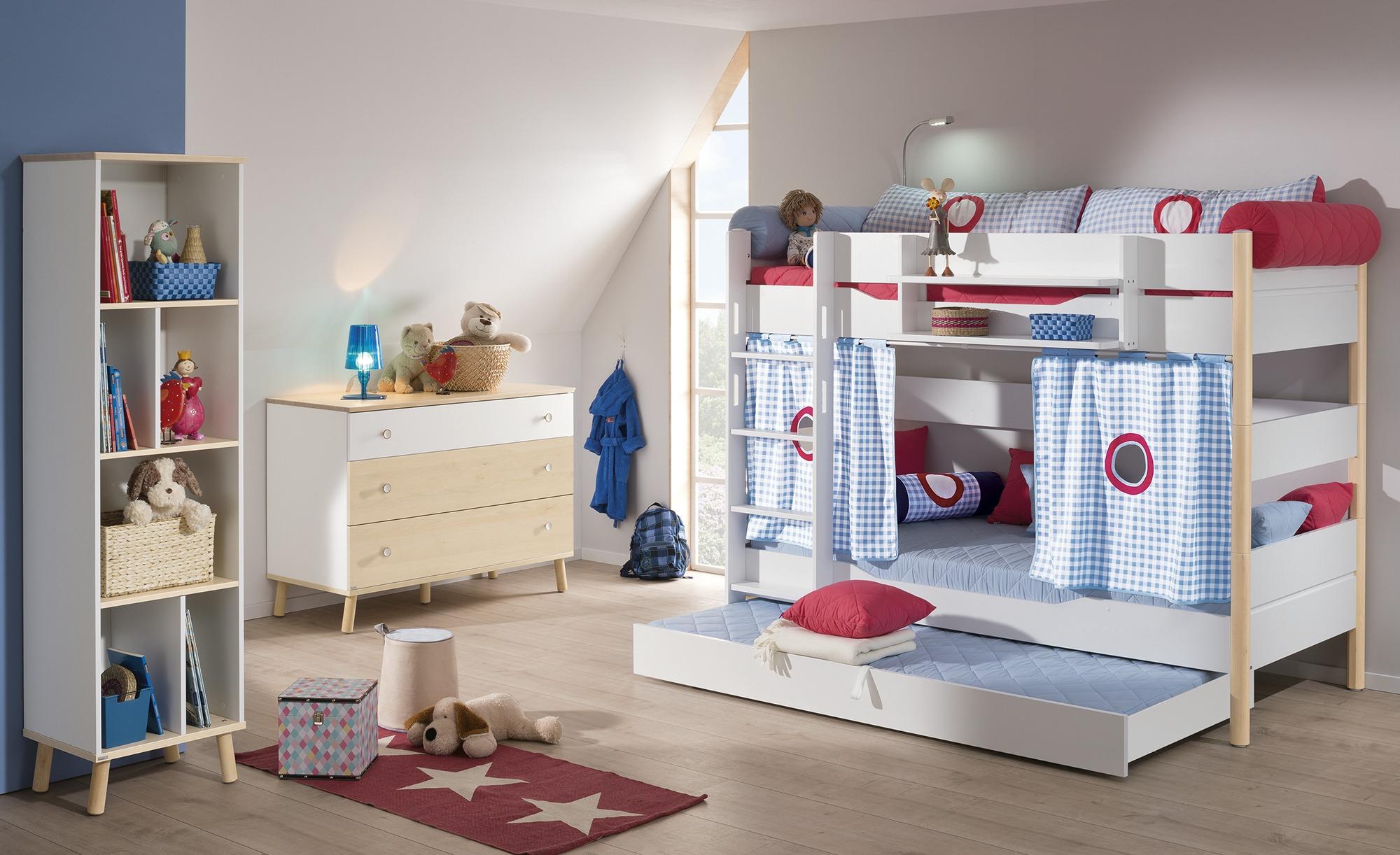 Kinderzimmer 'Ylvie' als Geschwisterzimmer für Jungen