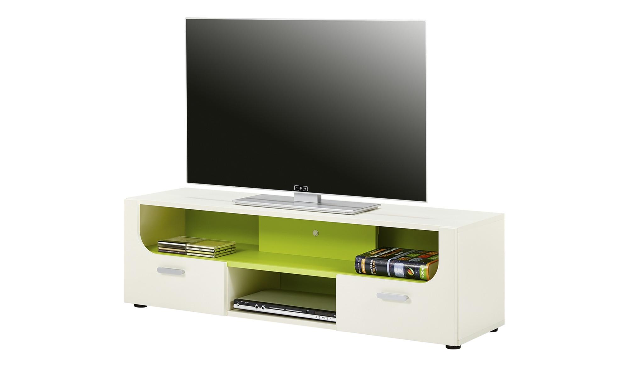 TV-Lowboard  Maddox ¦ weiß ¦ Maße (cm): B: 135 H: 42 T: 40 TV- & Media Möbel > TV-Schränke - Höffner