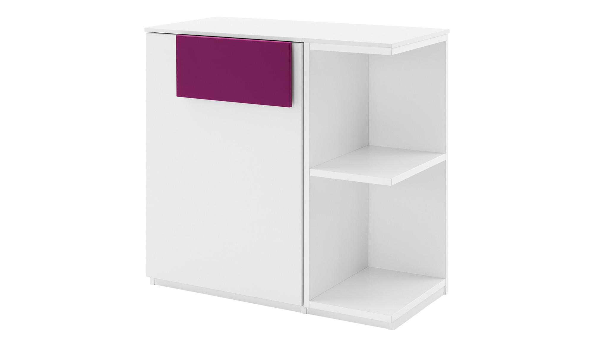 Kommode  Holly ¦ rosa/pink ¦ Maße (cm): B: 75,3 H: 74 T: 36,9 Kommoden & Sideboards > Kommoden - Höffner