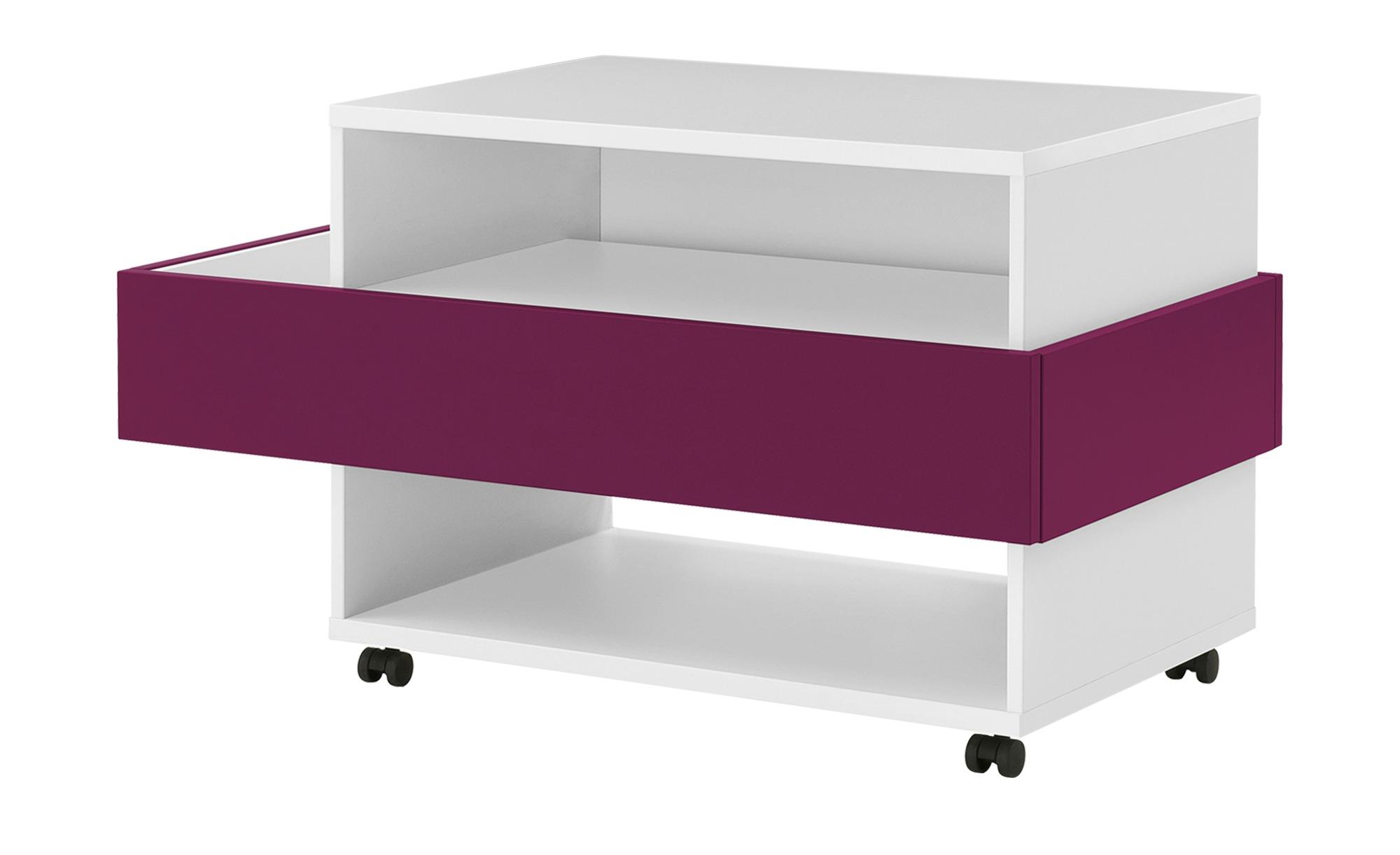 Mediabox  Holly ¦ rosa/pink ¦ Maße (cm): B: 101,1 H: 57,3 T: 53,8 TV- & Media Möbel > TV-Schränke - Höffner
