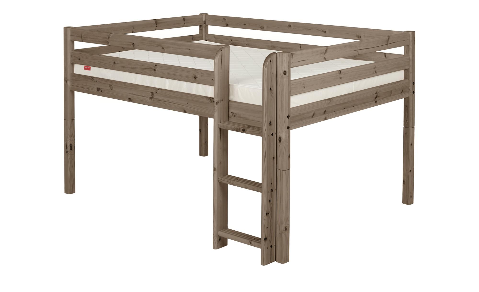 FLEXA Halbhohes Bett Holz Flexa Classic ¦ holzfarben ¦ Maße (cm): B: 160 H: 120 Kindermöbel > Kinderbetten - Höffner