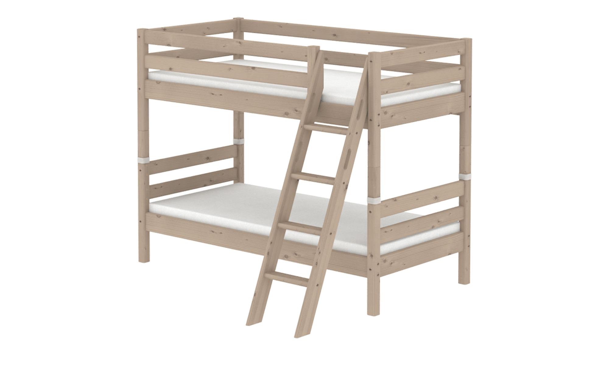 FLEXA Etagenbett 90x200 Holz Flexa Classic ¦ holzfarben ¦ Maße (cm): B: 163 H: 154 Kindermöbel > Kinderbetten - Höffner | Kinderzimmer > Kinderbetten > Etagenbetten | Möbel Höffner DE