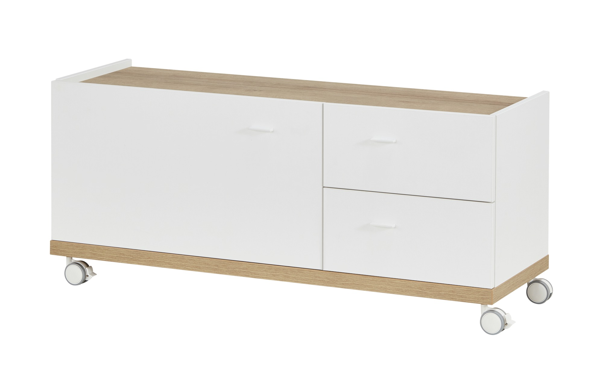 Lowboard  Moby ¦ weiß ¦ Maße (cm): B: 120 H: 50 T: 40 Kommoden & Sideboards > Lowboards - Höffner