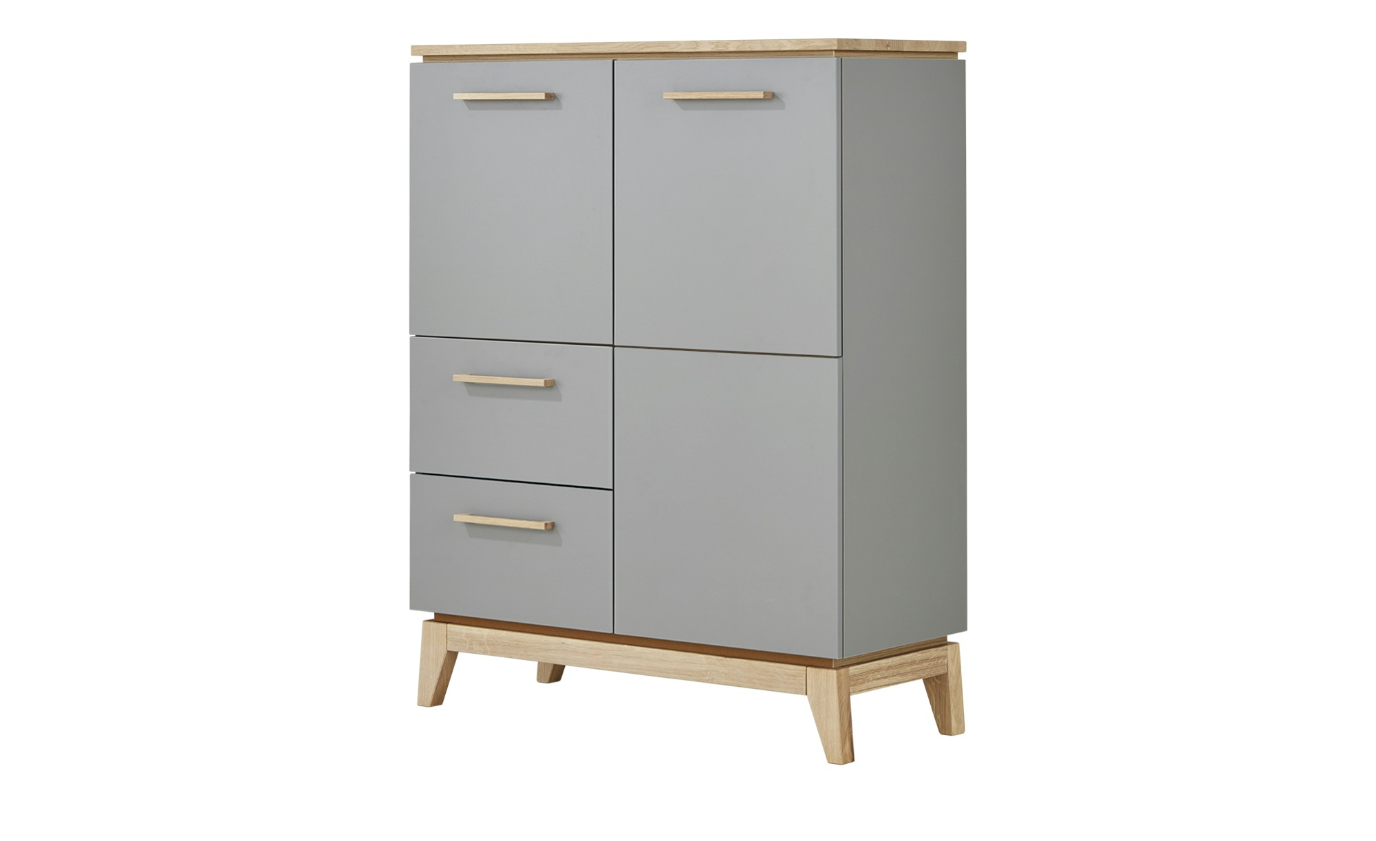 PAIDI Highboard  Sten ¦ grau ¦ Maße (cm): B: 94,6 H: 123,2 T: 39,3 Kommoden & Sideboards > Highboards - Höffner