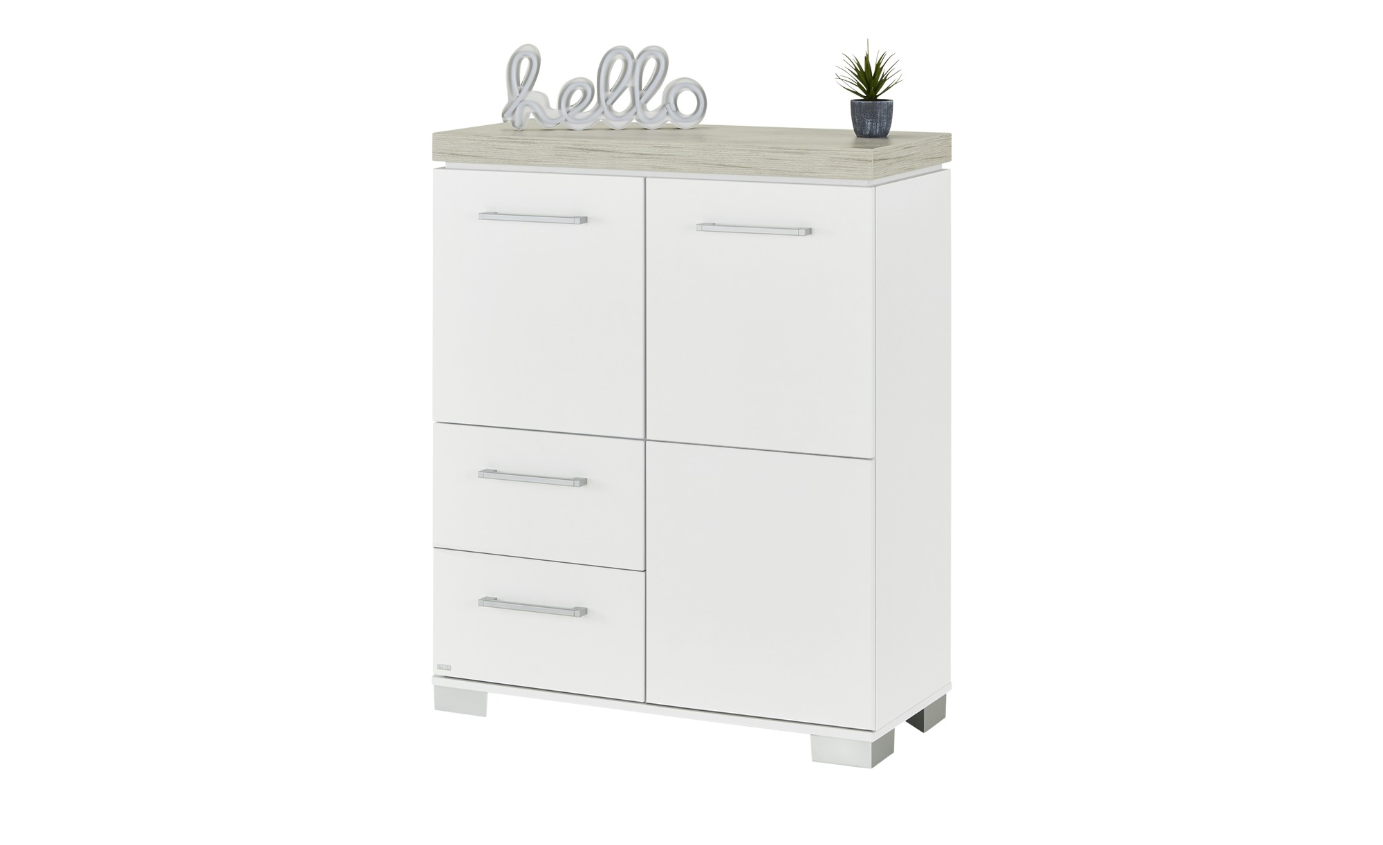 PAIDI Highboard   Kira ¦ weiß ¦ Maße (cm): B: 90,9 H: 111,8 T: 39,6 Kommoden & Sideboards > Highboards - Höffner