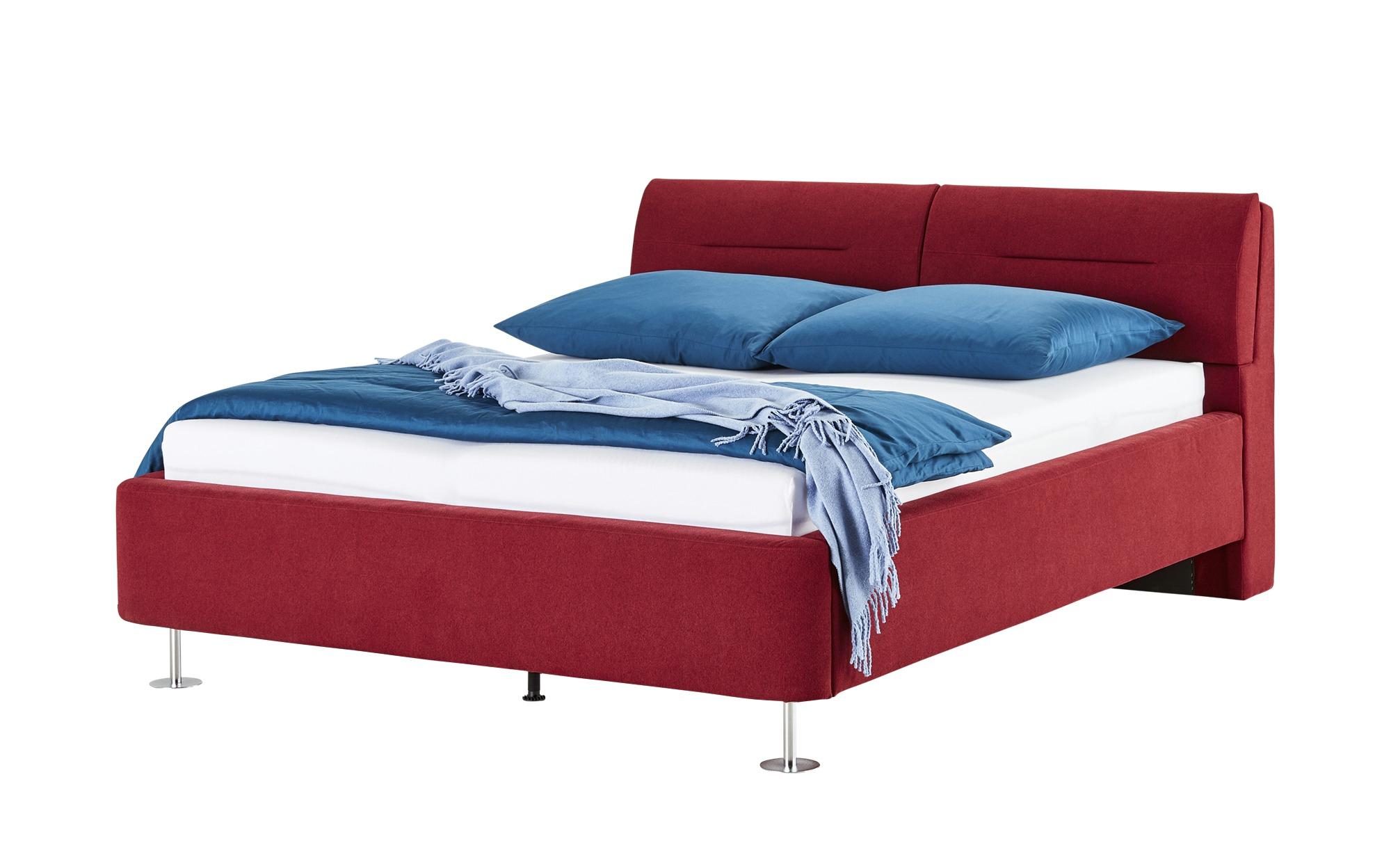 Polsterbettgestell 160x200 - rot Mein Bett ¦ rot ¦ Maße (cm): B: 179 H: 100 T: 230 Betten > Polsterbetten - Höffner