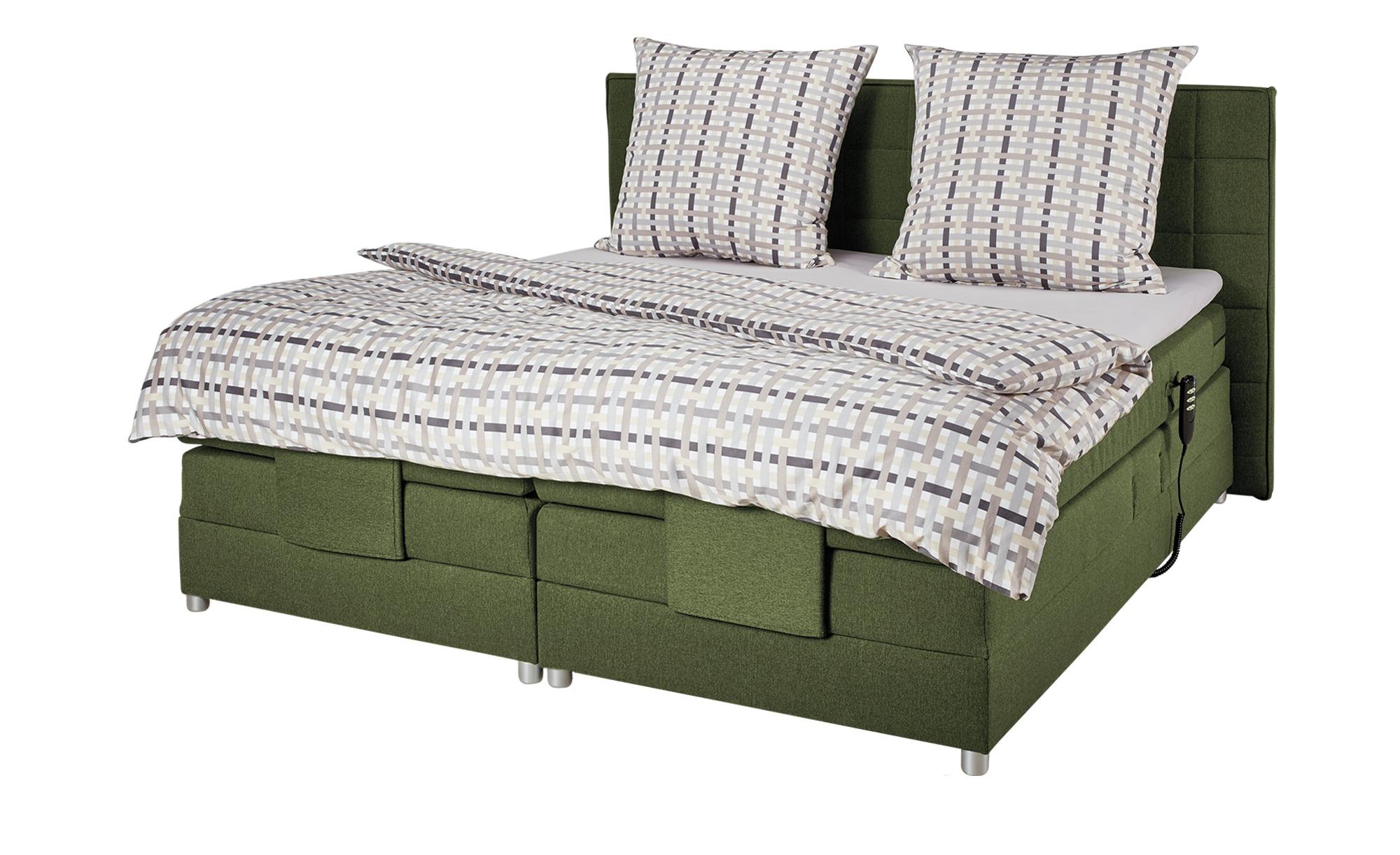 uno motor boxspringbett 180x200 gr n montana gr n. Black Bedroom Furniture Sets. Home Design Ideas