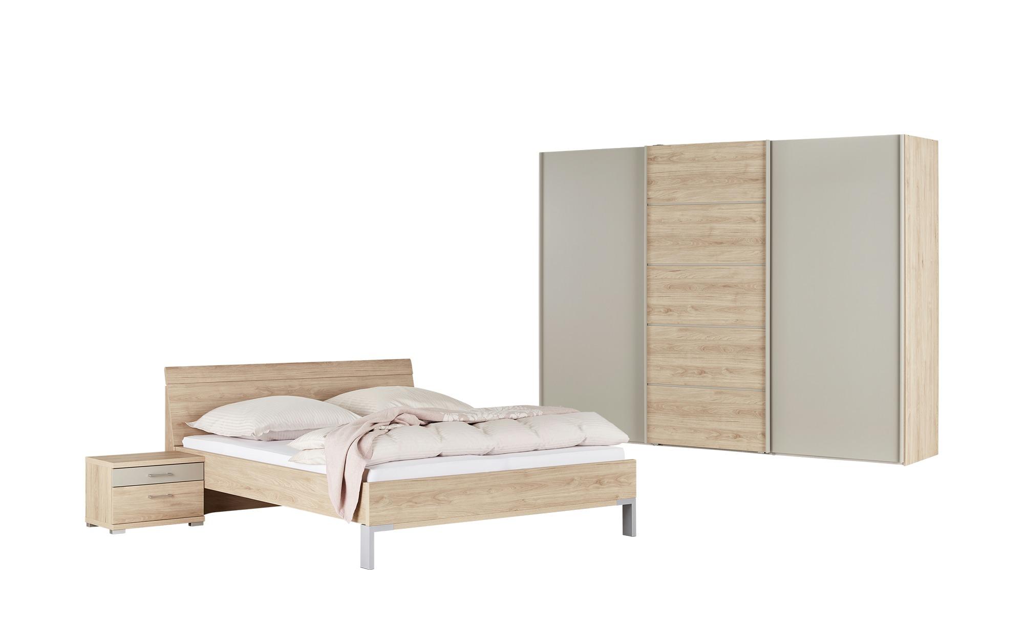 uno Komplett-Schlafzimmer 4-teilig  Rügen 2 ¦ holzfarben ¦ Maße (cm): B: 250 H: 217 T: 67 Komplett-Schlafzimmer - Höffner