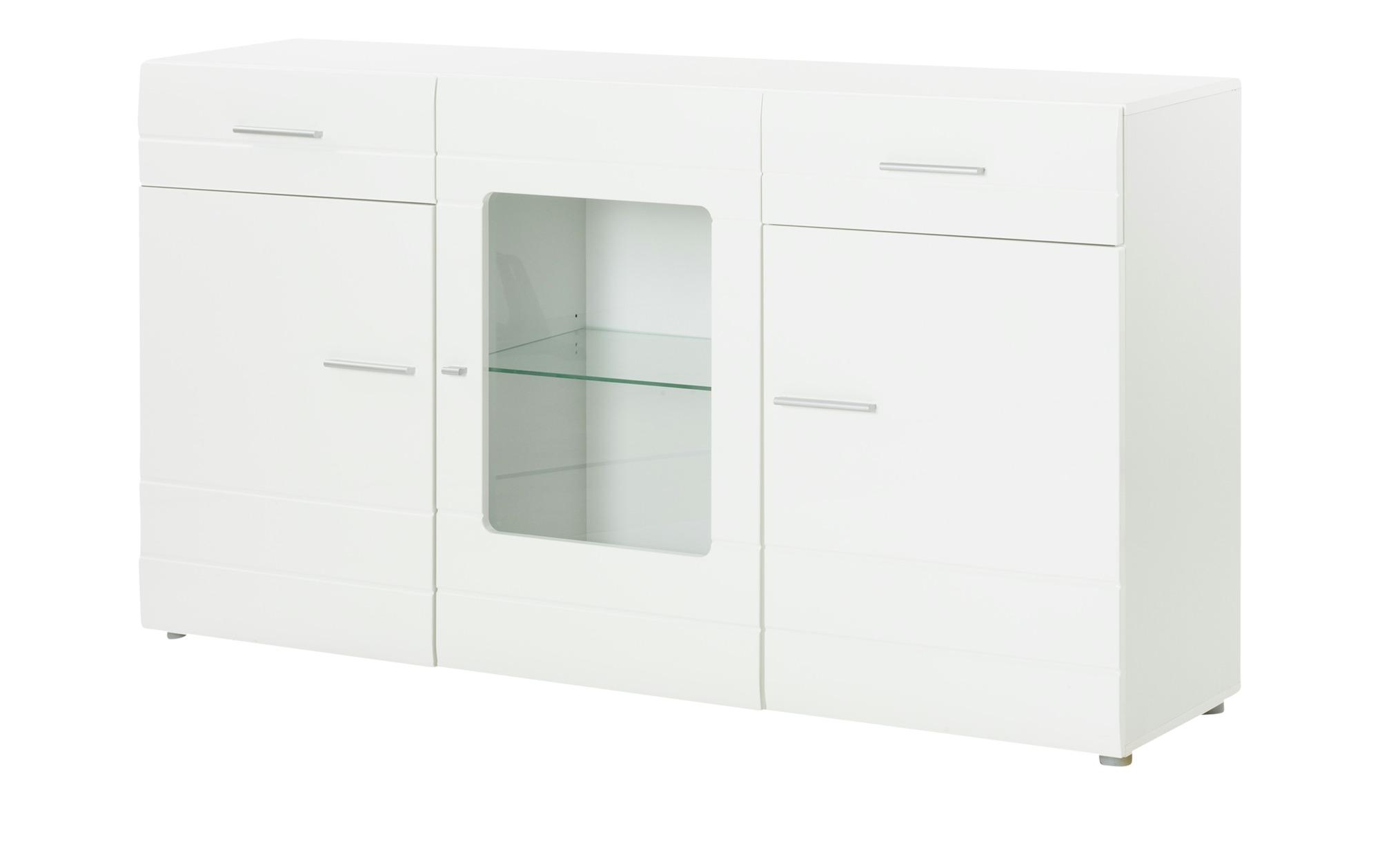 Sideboard  Biano ¦ weiß ¦ Maße (cm): B: 165 H: 92 T: 42 Kommoden & Sideboards > Sideboards - Höffner