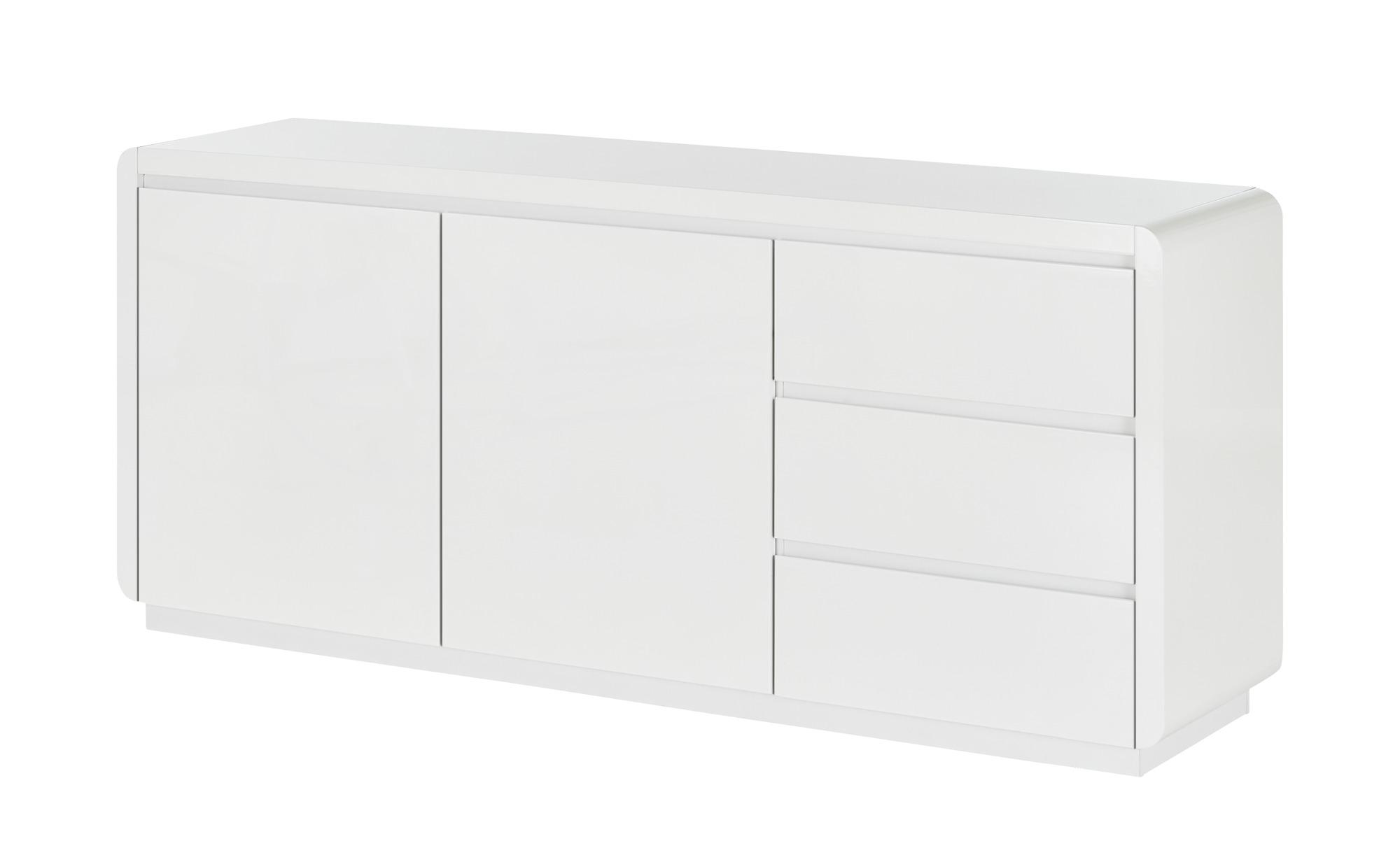 Sideboard  Polar ¦ weiß ¦ Maße (cm): B: 180 H: 78,5 T: 45 Kommoden & Sideboards > Sideboards - Höffner
