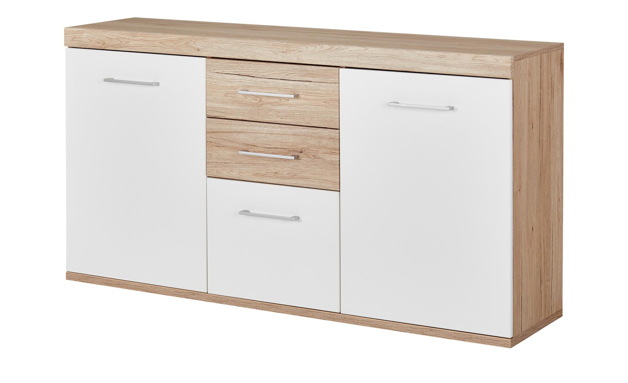 uno Sideboard  Patryk ¦ weiß ¦ Maße (cm): B: 150 H: 80 T: 38 Kommoden & Sideboards > Sideboards - Höffner