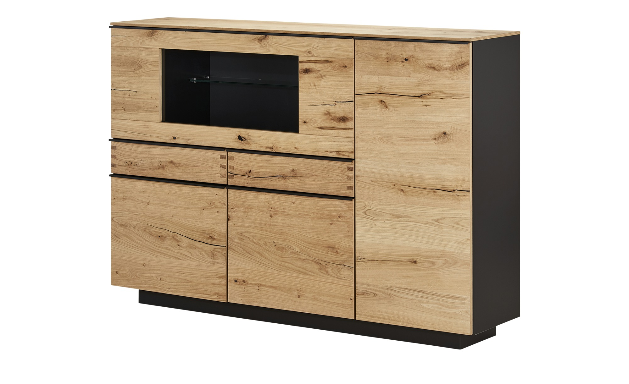 Highboard  Light Line 6 ¦ holzfarben ¦ Maße (cm): B: 176 H: 121 T: 40 Kommoden & Sideboards > Highboards - Höffner
