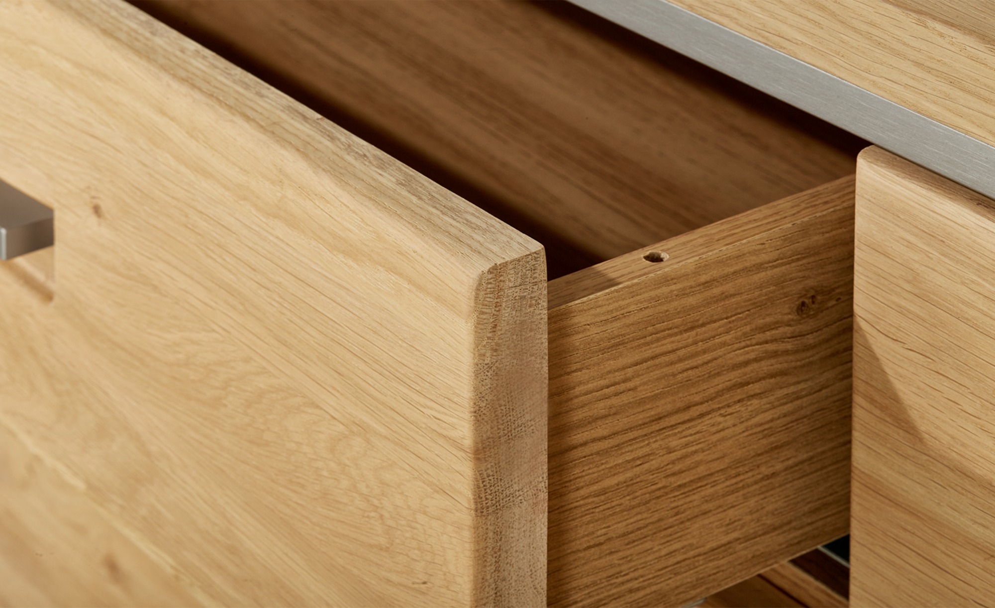 Woodford Sideboard  Felino ¦ holzfarben ¦ Maße (cm): B: 184 H: 89 T: 45 Kommoden & Sideboards > Sideboards - Höffner