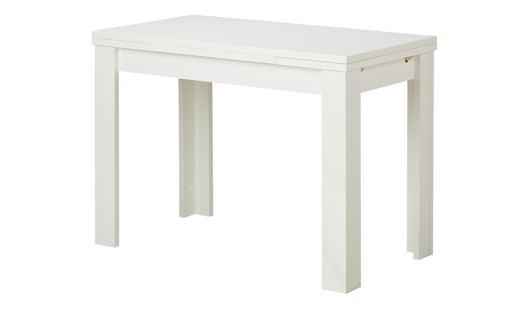 Esstisch  FleX ¦ weiß ¦ Maße (cm): B: 60 H: 78 Tische > Esstische > Esstische ausziehbar - Höffner
