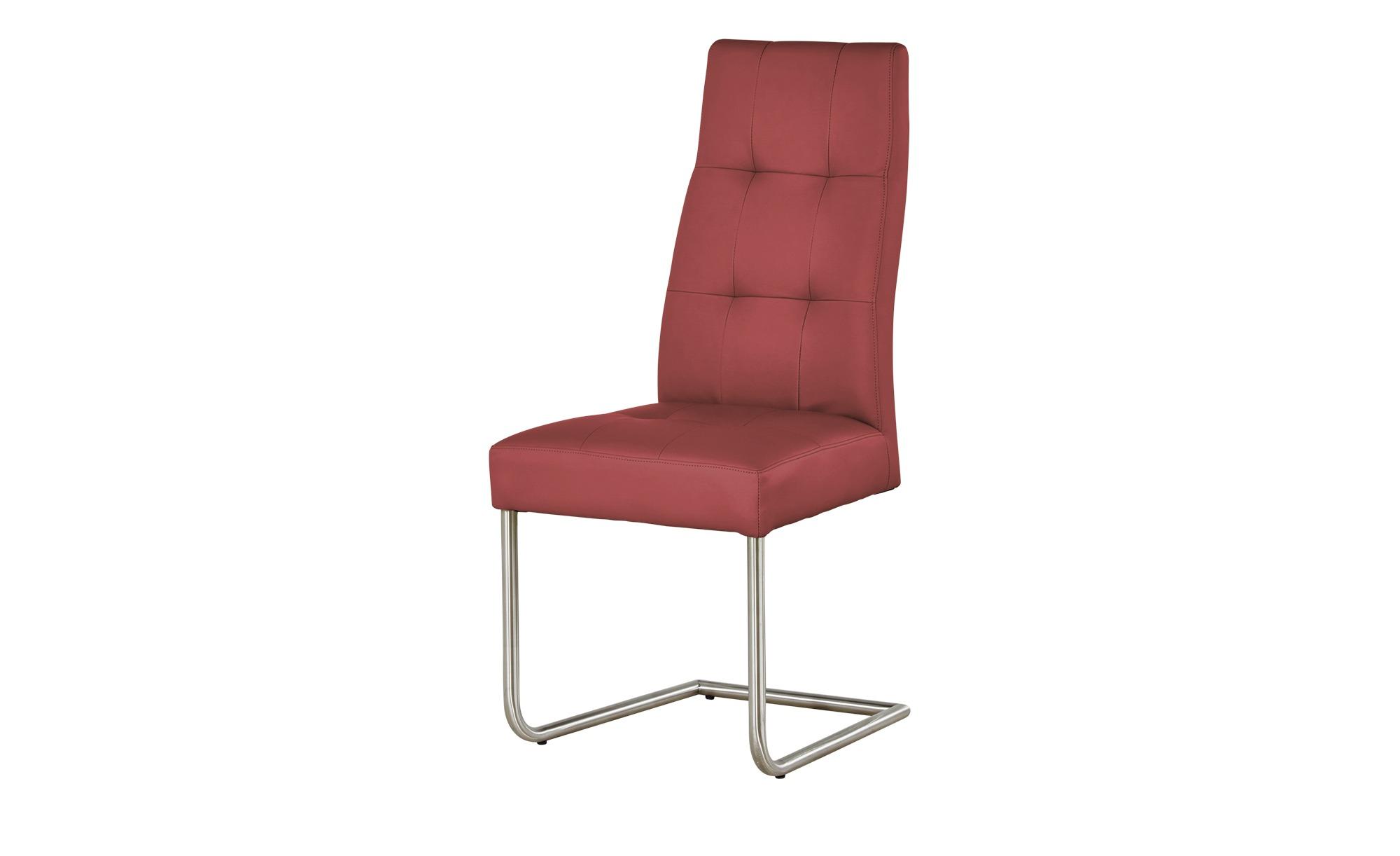 Woodford Kunstleder Schwingstuhl Thea rot 47 cm 104 cm 60 cm Stühle > Esszimmerstühle Möbel Kraft