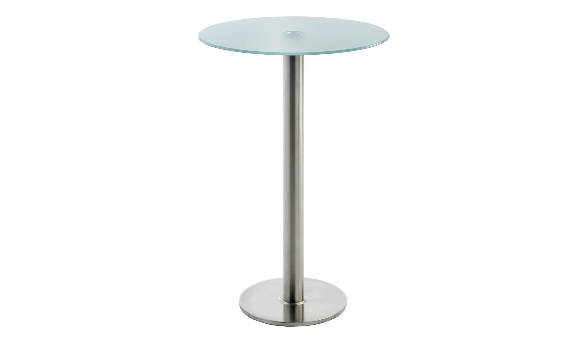 Glas-Stehtisch  MyPalio ¦ silber Ø: 70 Tische > Bartische - Höffner
