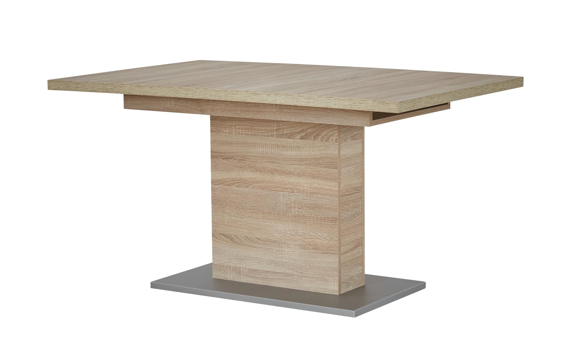 Esstisch  Pia ¦ holzfarben ¦ Maße (cm): B: 90 H: 77 Tische > Esstische > Esstische ausziehbar - Höffner