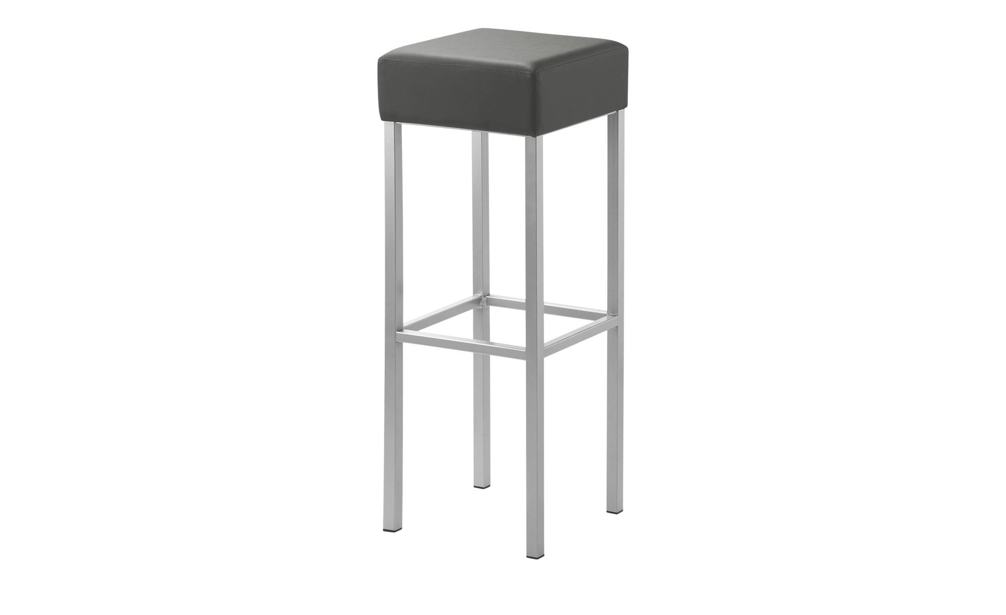 Barhocker  Cubus ¦ grau ¦ Maße (cm): B: 34 H: 92 T: 34 Stühle > Barhocker - Höffner | Küche und Esszimmer > Bar-Möbel > Barhocker | Möbel Höffner DE