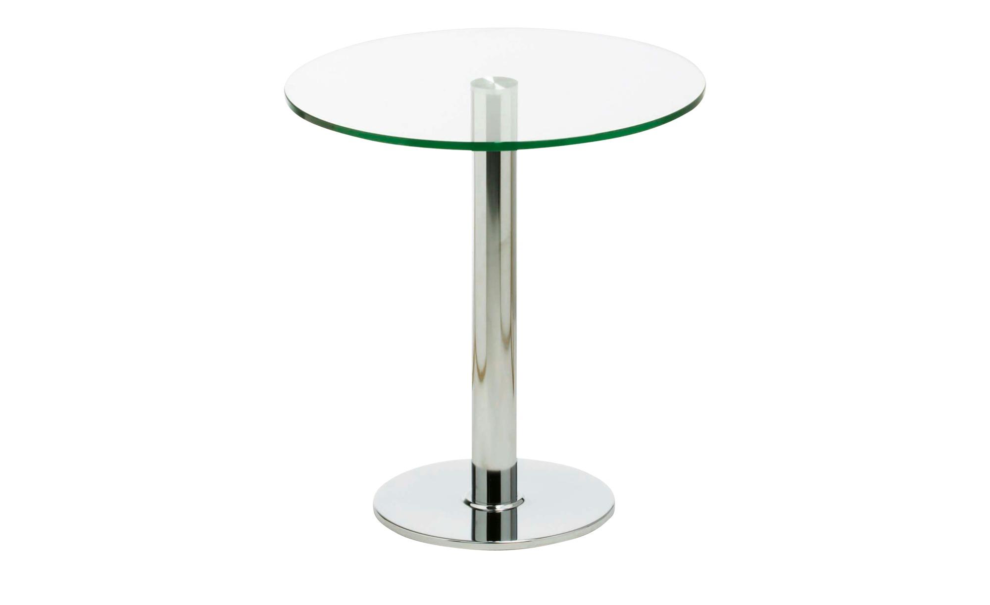 Esstisch  Top Netto ¦ transparent/klar ¦ Maße (cm): H: 73,5 Ø: [70.0] Tische > Esstische > Esstische rund - Höffner