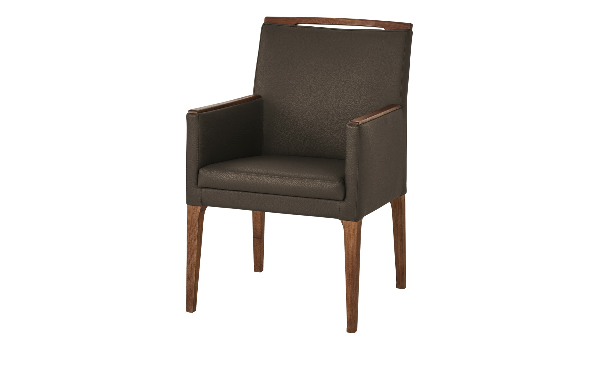 Wohnwert Sessel  Botho ¦ braun ¦ Maße (cm): B: 58 H: 91 T: 65 Stühle > Esszimmerstühle > Esszimmerstühle mit Armlehnen - Höffner