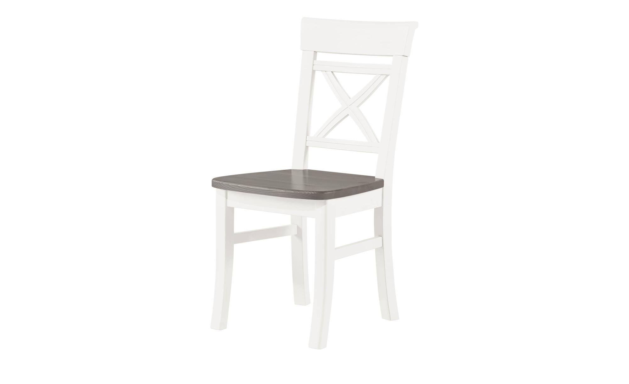 Maison Bleue Stuhl Florian Weiß Grau Höffner