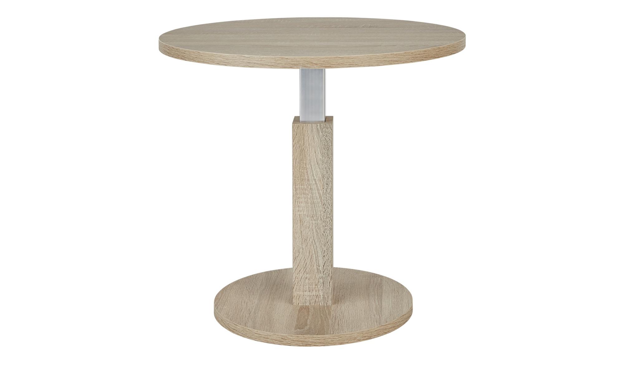 Couchtisch  Eco-Lift-Tisch ¦ holzfarben ¦ Maße (cm): H: 42 Ø: 60 Tische > Couchtische > Couchtische höhenverstellbar - Höffner
