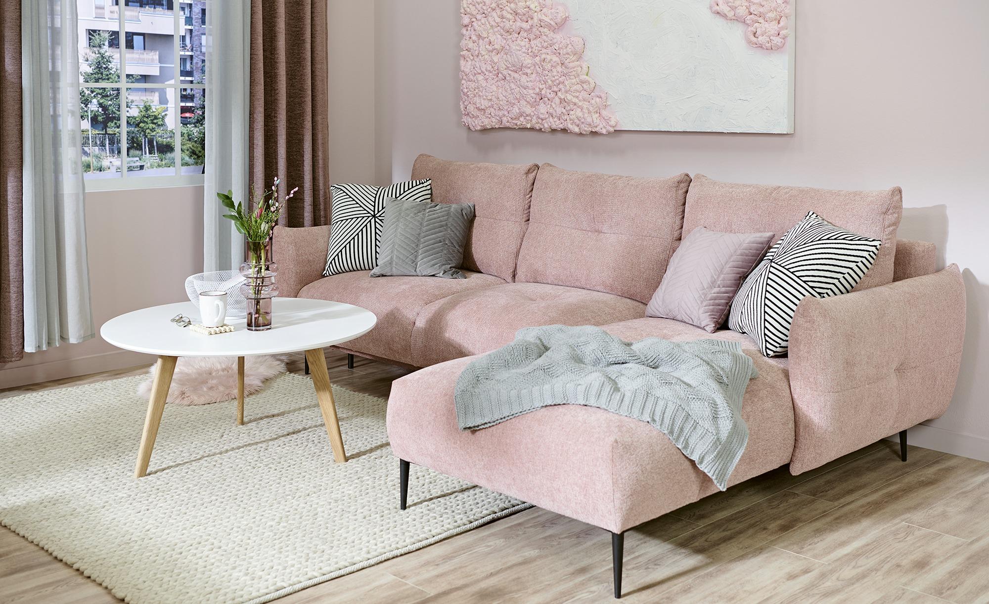 Couchtisch  Gera ¦ weiß ¦ Maße (cm): H: 45 Ø: [90.0] Tische > Couchtische > Couchtische andere Formen - Höffner