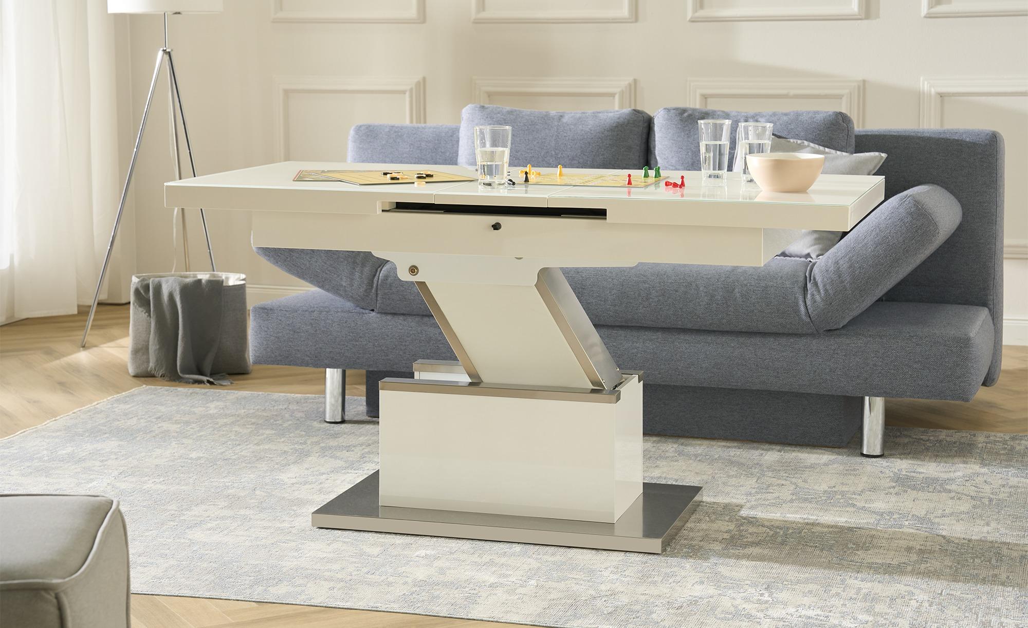 Couchtisch  Grado ¦ weiß Tische > Esstische > Esstische ausziehbar - Höffne günstig online kaufen