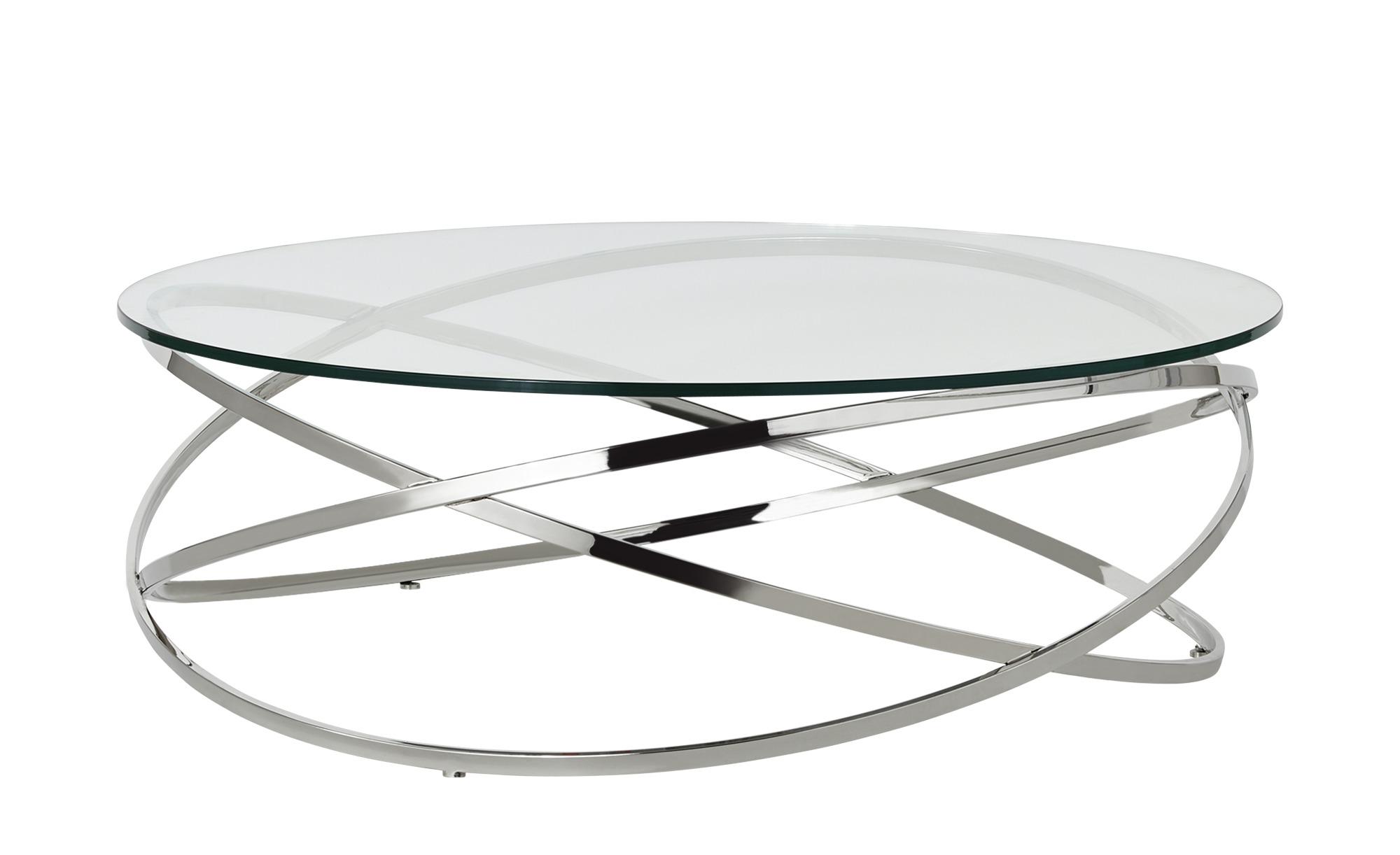 Couchtisch  Todor ¦ silber ¦ Maße (cm): H: 35 Ø: 105 Tische > Couchtische > Couchtische rund - Höffner
