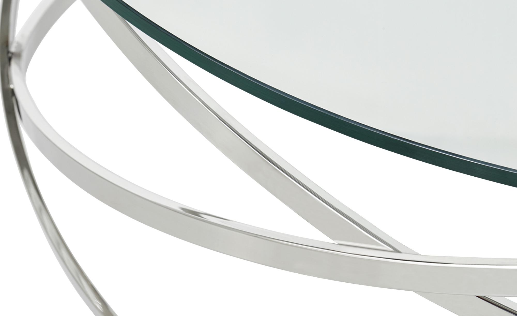 Couchtisch todor silber ma e cm h 35 105 0 for Tische couchtische