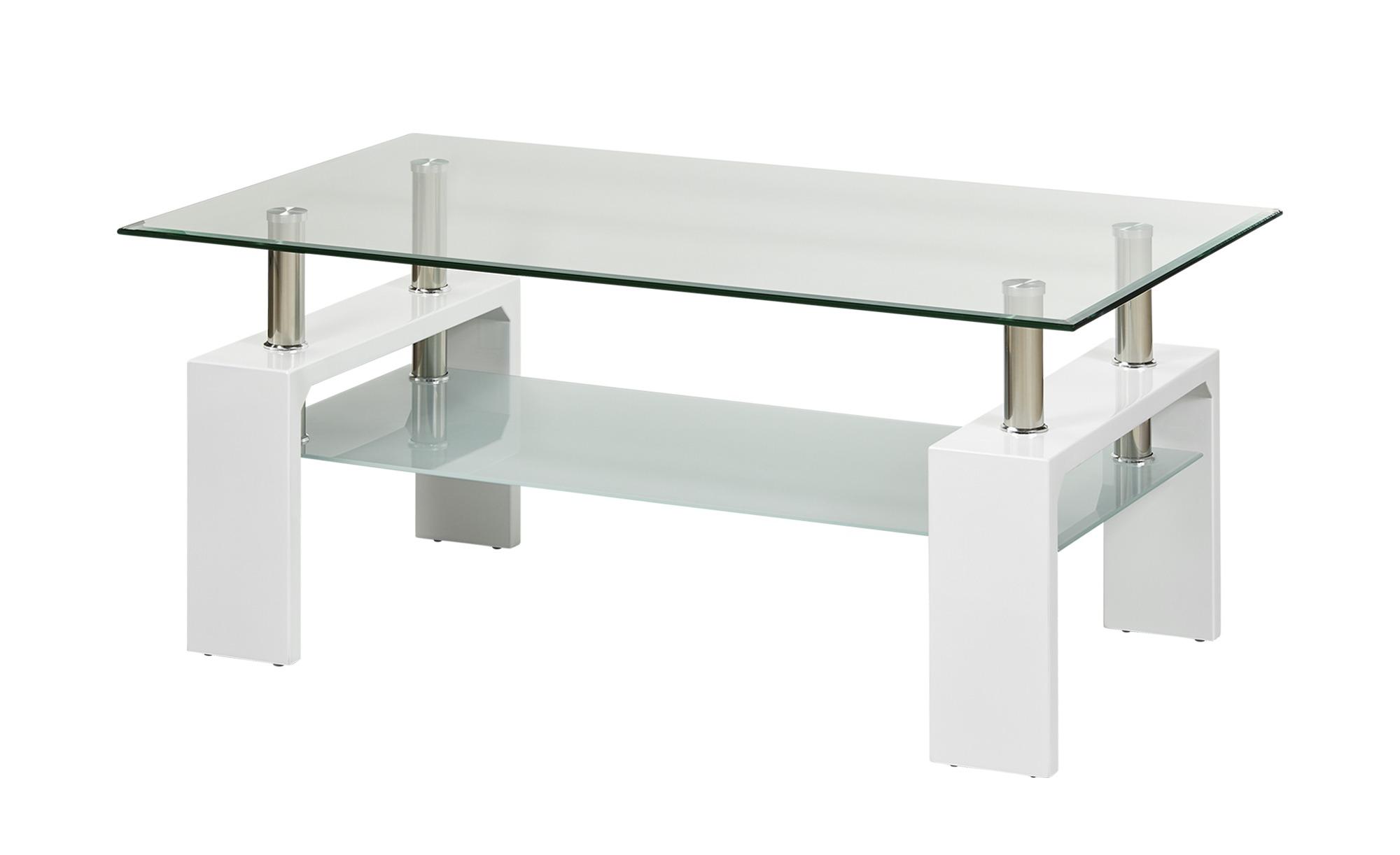 Couchtisch  Elba ¦ weiß ¦ Maße (cm): B: 60 H: 45 Tische > Couchtische > Couchtische rechteckig - Höffner