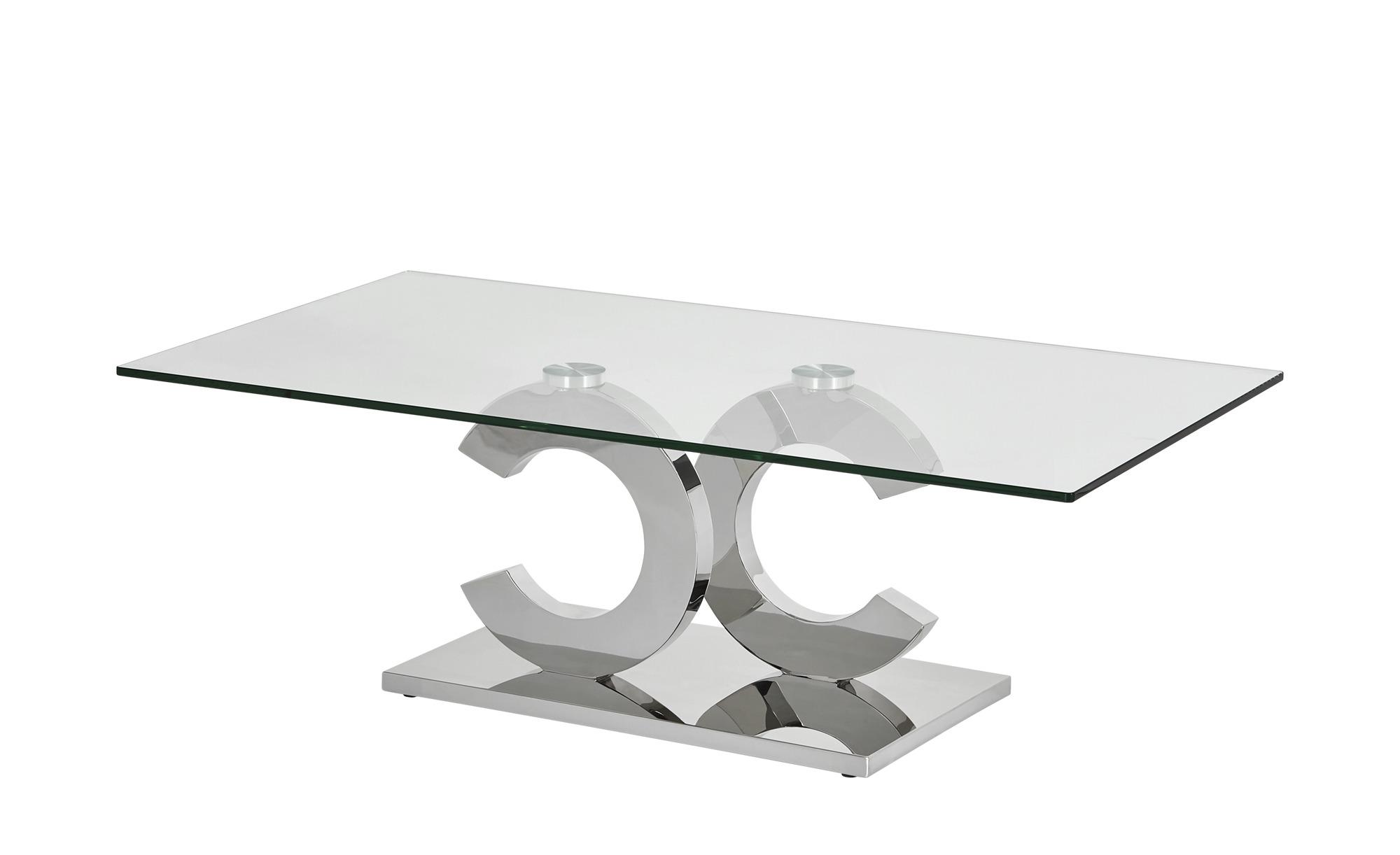 Couchtisch  Christy ¦ silber ¦ Maße (cm): B: 70 H: 42 T: 70 Tische > Couchtische > Couchtische rechteckig - Höffner