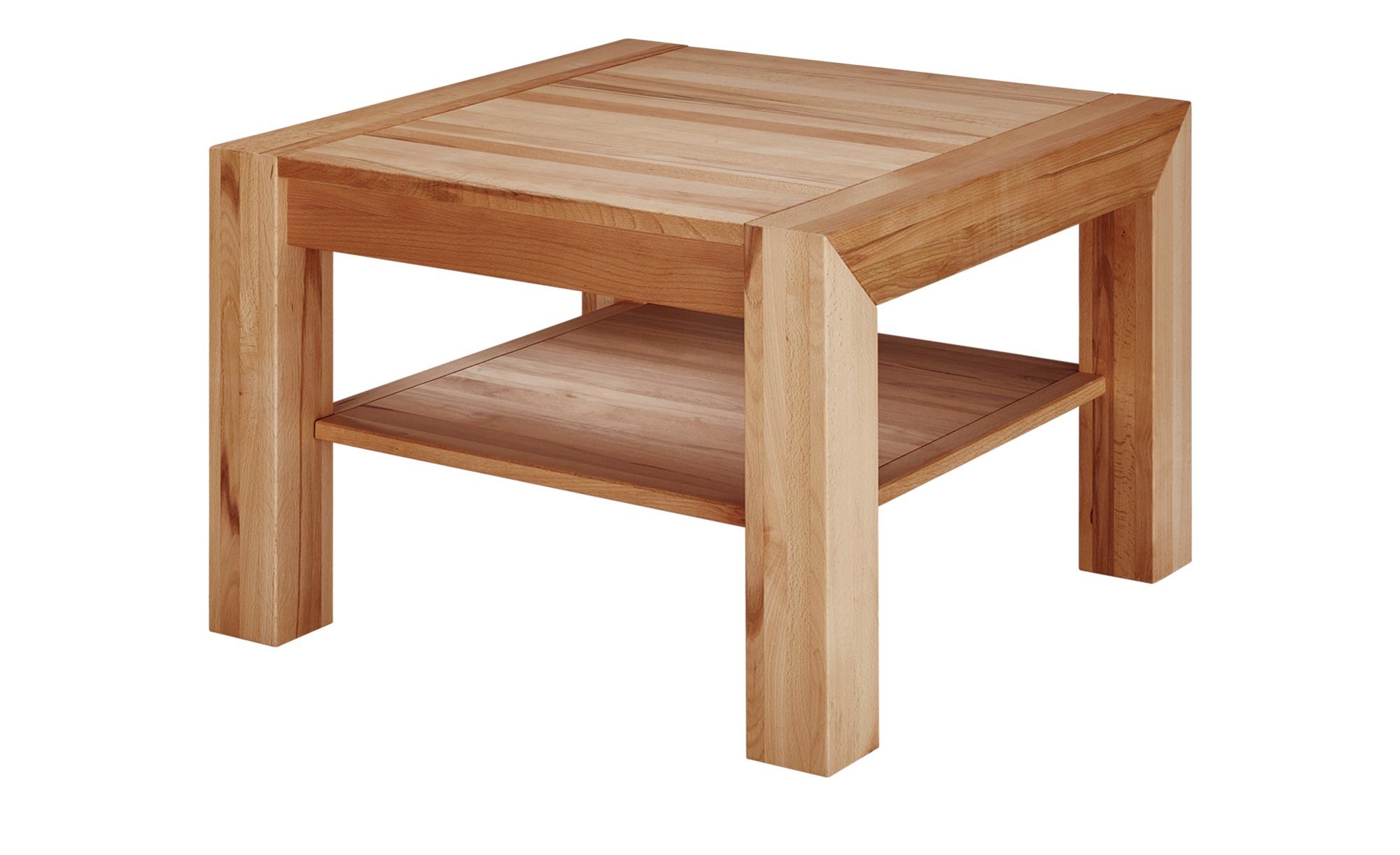 Couchtisch  Cura ¦ holzfarben ¦ Maße (cm): B: 65 H: 46 Tische > Couchtische > Couchtisch Massivholz - Höffner