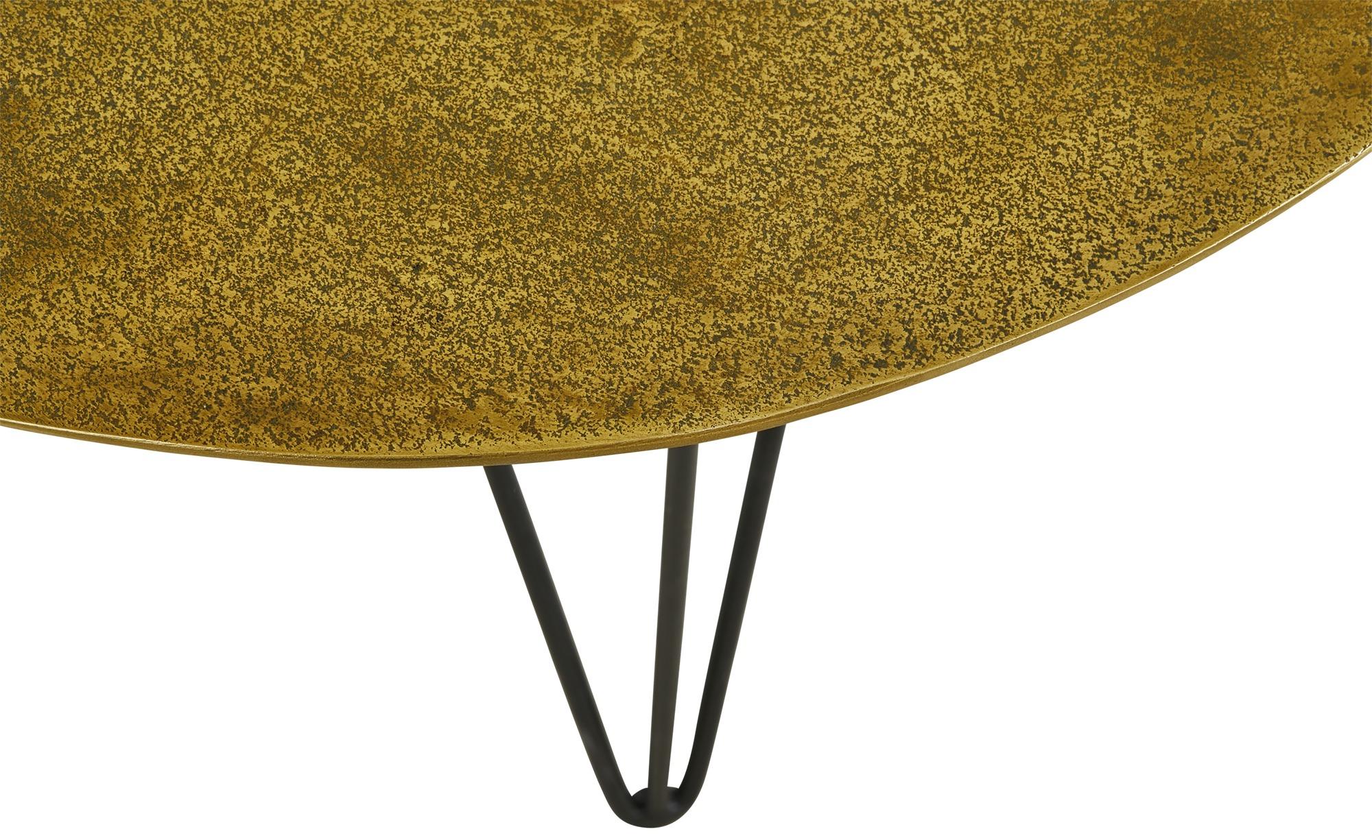 Couchtisch  Cake ¦ gold ¦ Maße (cm): H: 49 Ø: 65 Tische > Couchtische > Couchtische rund - Höffner