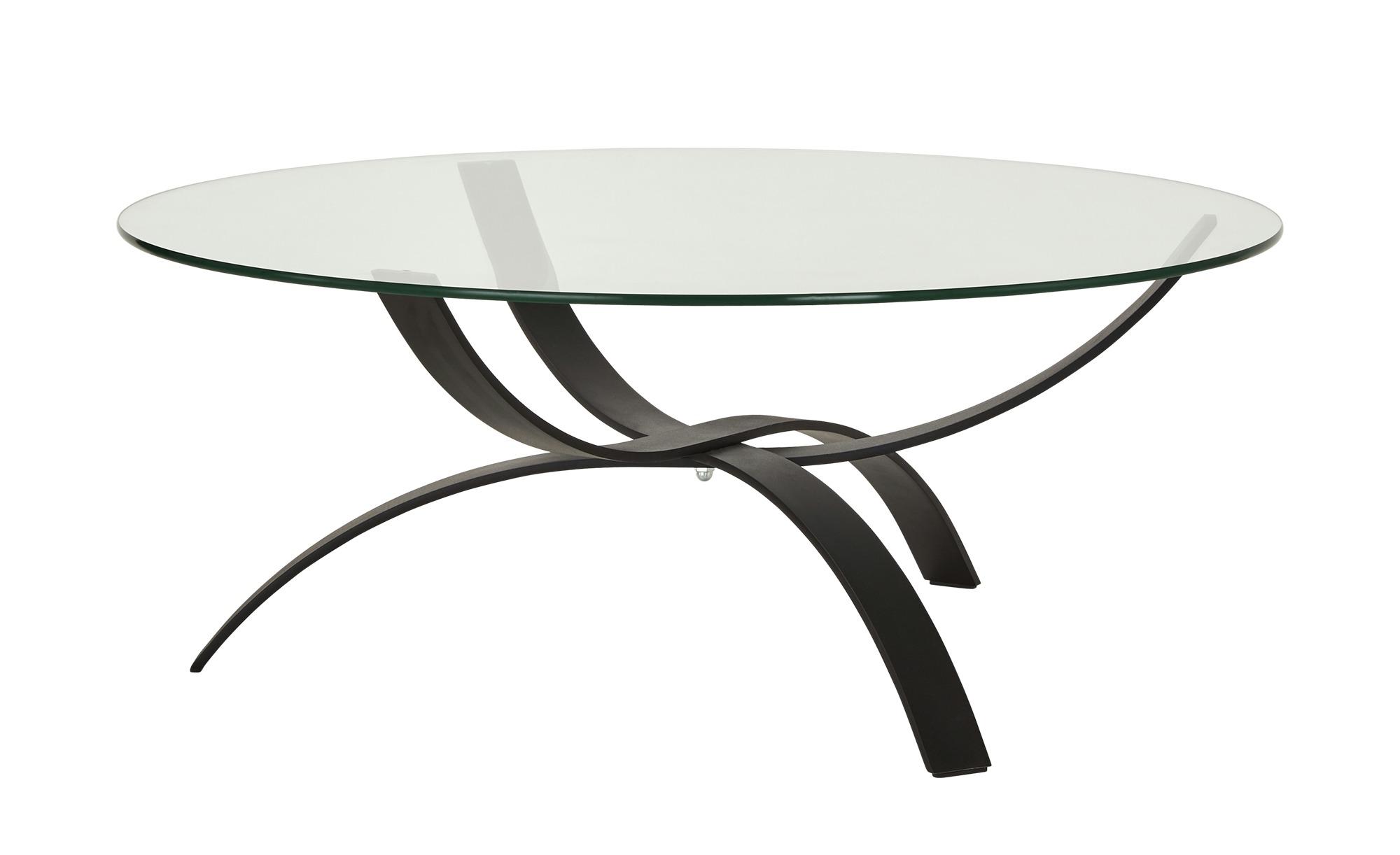 Couchtisch  Han ¦ schwarz ¦ Maße (cm): H: 45 Ø: [105.0] Tische > Couchtische > Couchtische rund - Höffner