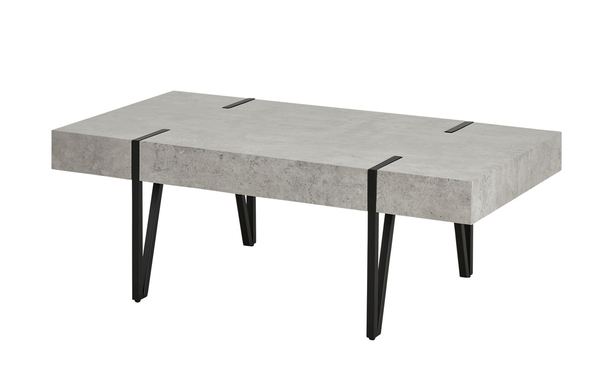 Couchtisch Gorgo ¦ grau ¦ Maße (cm): B: 60 H: 40 Tische > Couchtische >  Couchtische rechteckig - Höffner