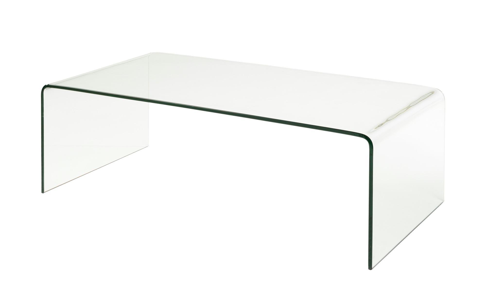 Couchtisch  Tessera ¦ transparent/klar ¦ Maße (cm): B: 55 H: 35 Tische > Couchtische > Couchtische rechteckig - Höffner