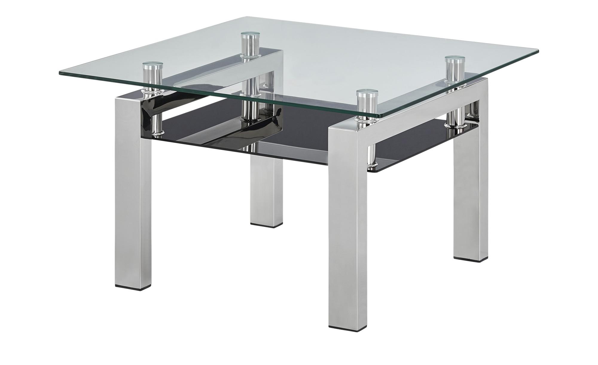 Couchtisch ¦ silber ¦ Maße (cm): B: 70 H: 44 T: 70 Tische > Couchtische > Couchtische rechteckig - Höffner