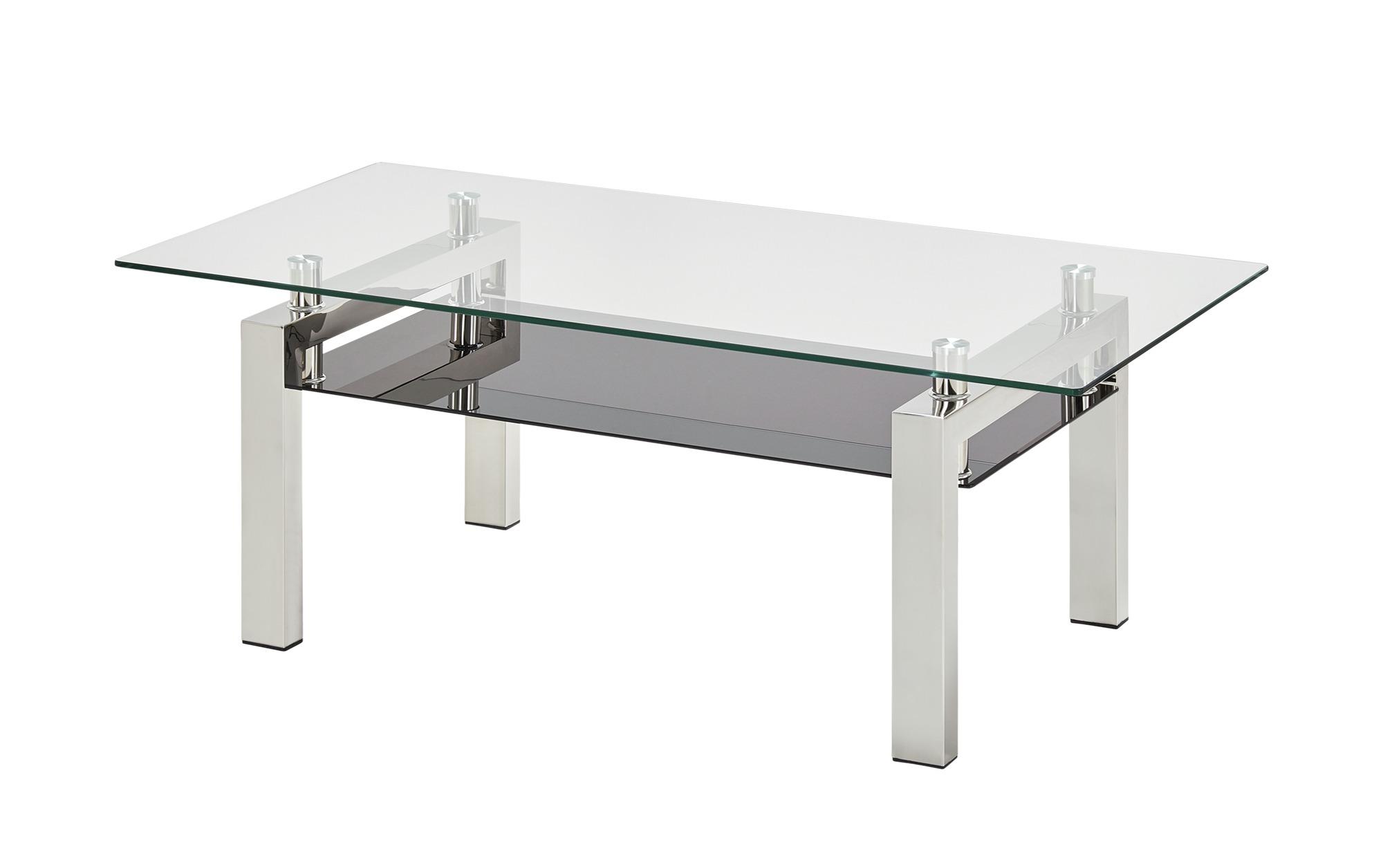 Couchtisch ¦ silber ¦ Maße (cm): B: 60 H: 44 T: 60 Tische > Couchtische > Couchtische rechteckig - Höffner