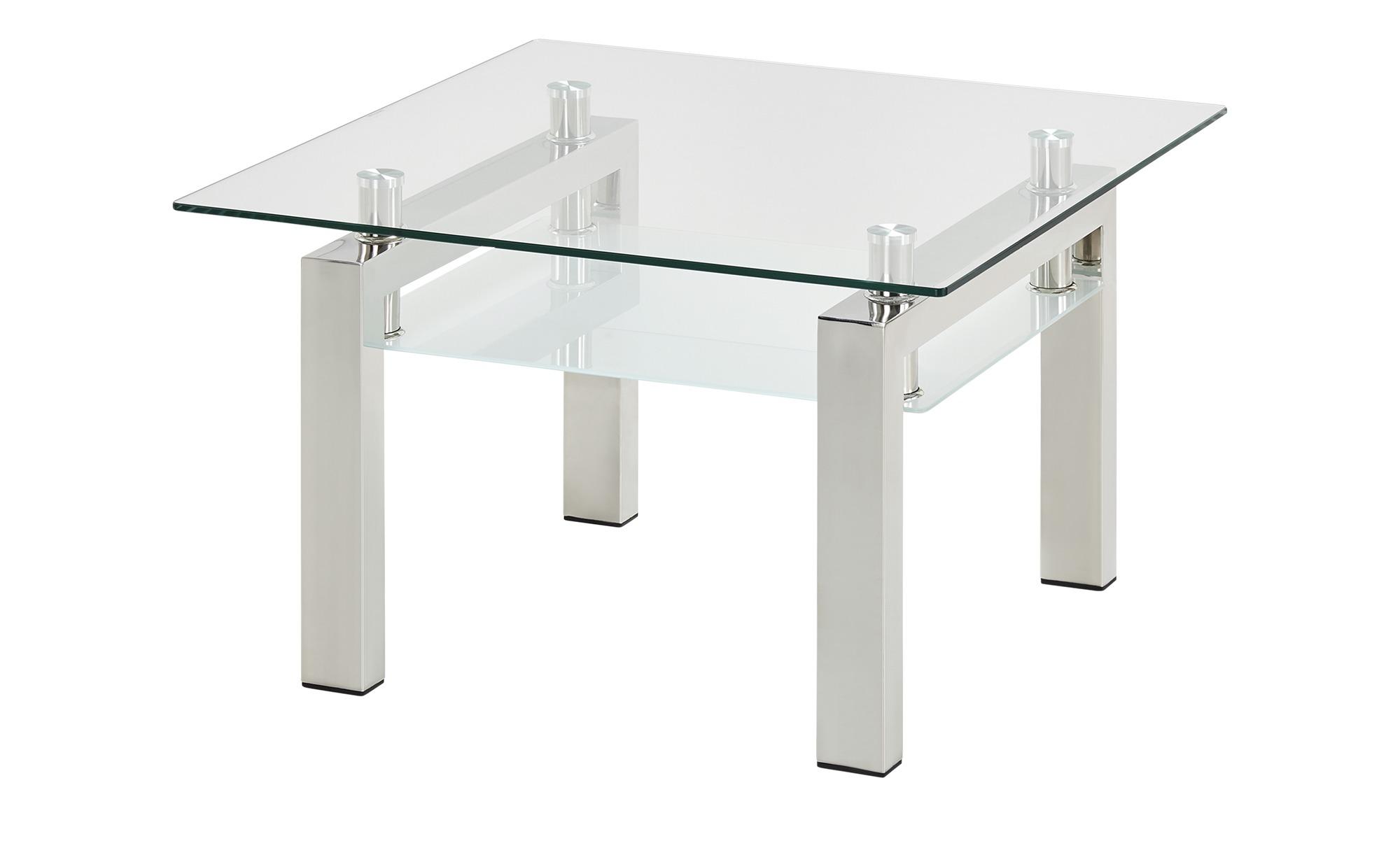 Couchtisch  Beno II ¦ transparent/klar ¦ Maße (cm): B: 70 H: 44 T: 70 Tische > Couchtische > Couchtische andere Formen - Höffner