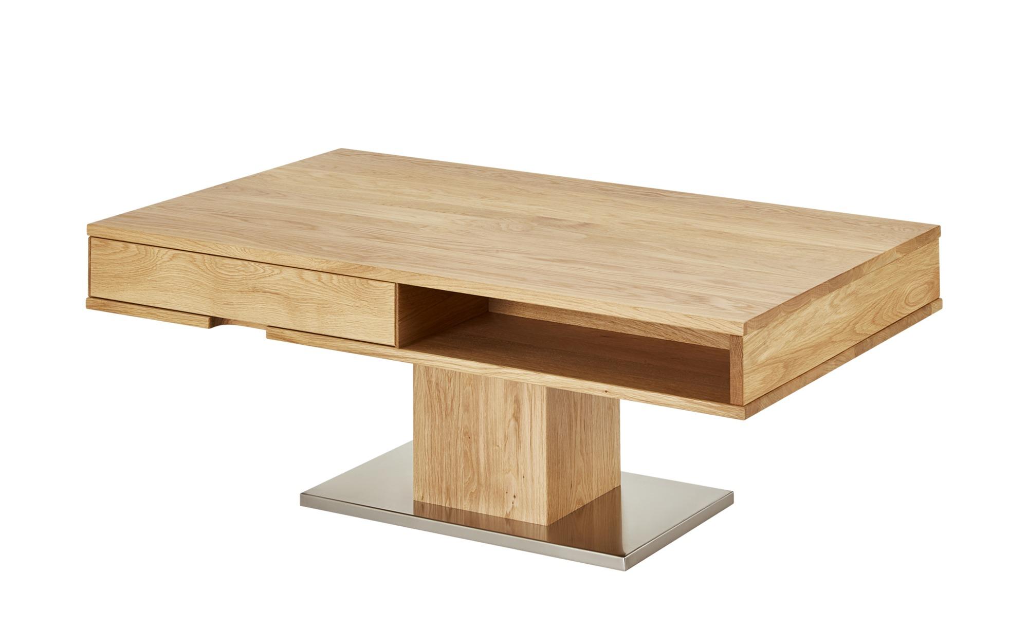 Couchtisch  Syros ¦ holzfarben ¦ Maße (cm): B: 70 H: 44 T: 70 Tische > Couchtische > Couchtisch Massivholz - Höffner