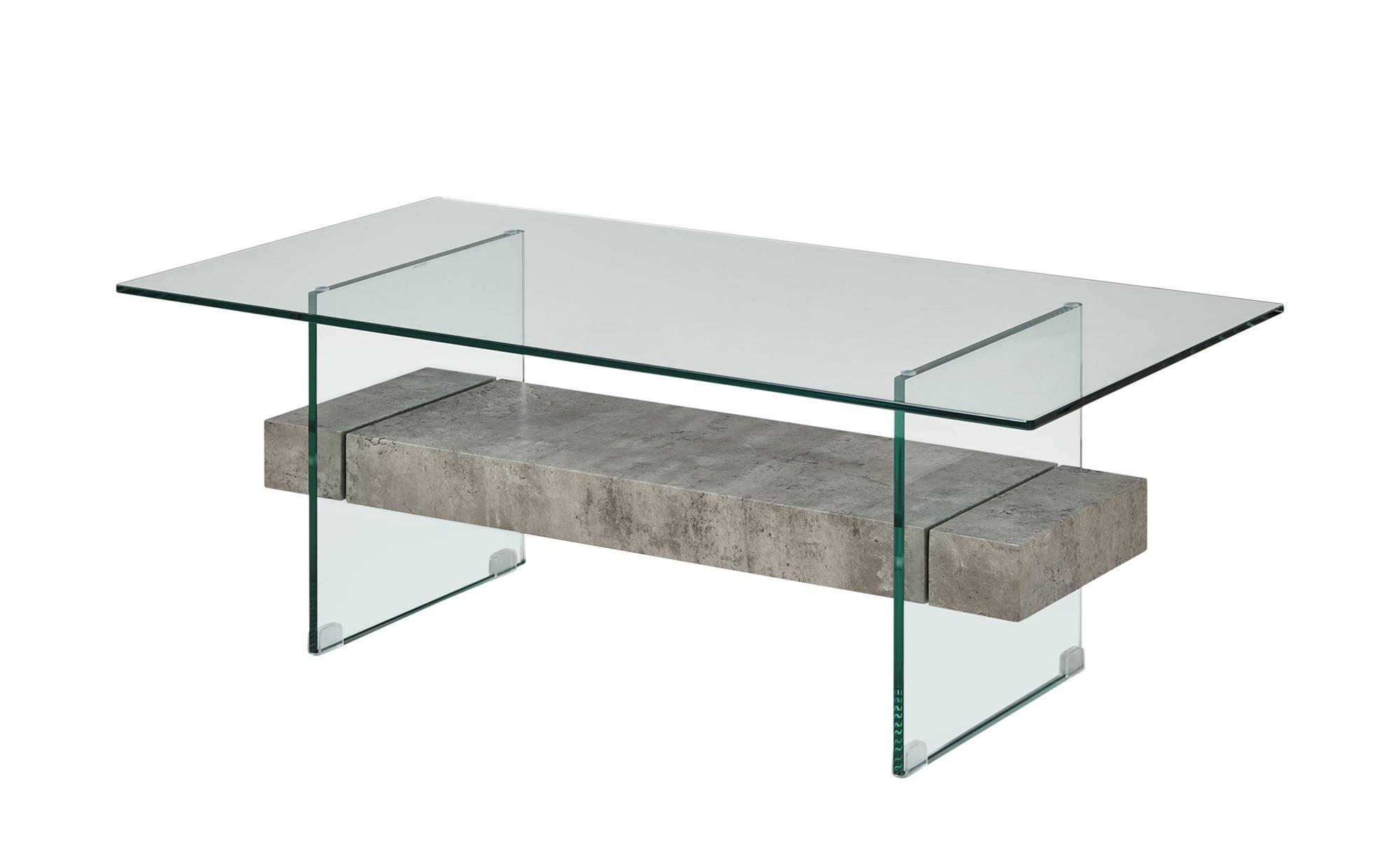 Couchtisch  Loreto ¦ grau ¦ Maße (cm): B: 60 H: 42 Tische > Couchtische > Couchtische rechteckig - Höffner