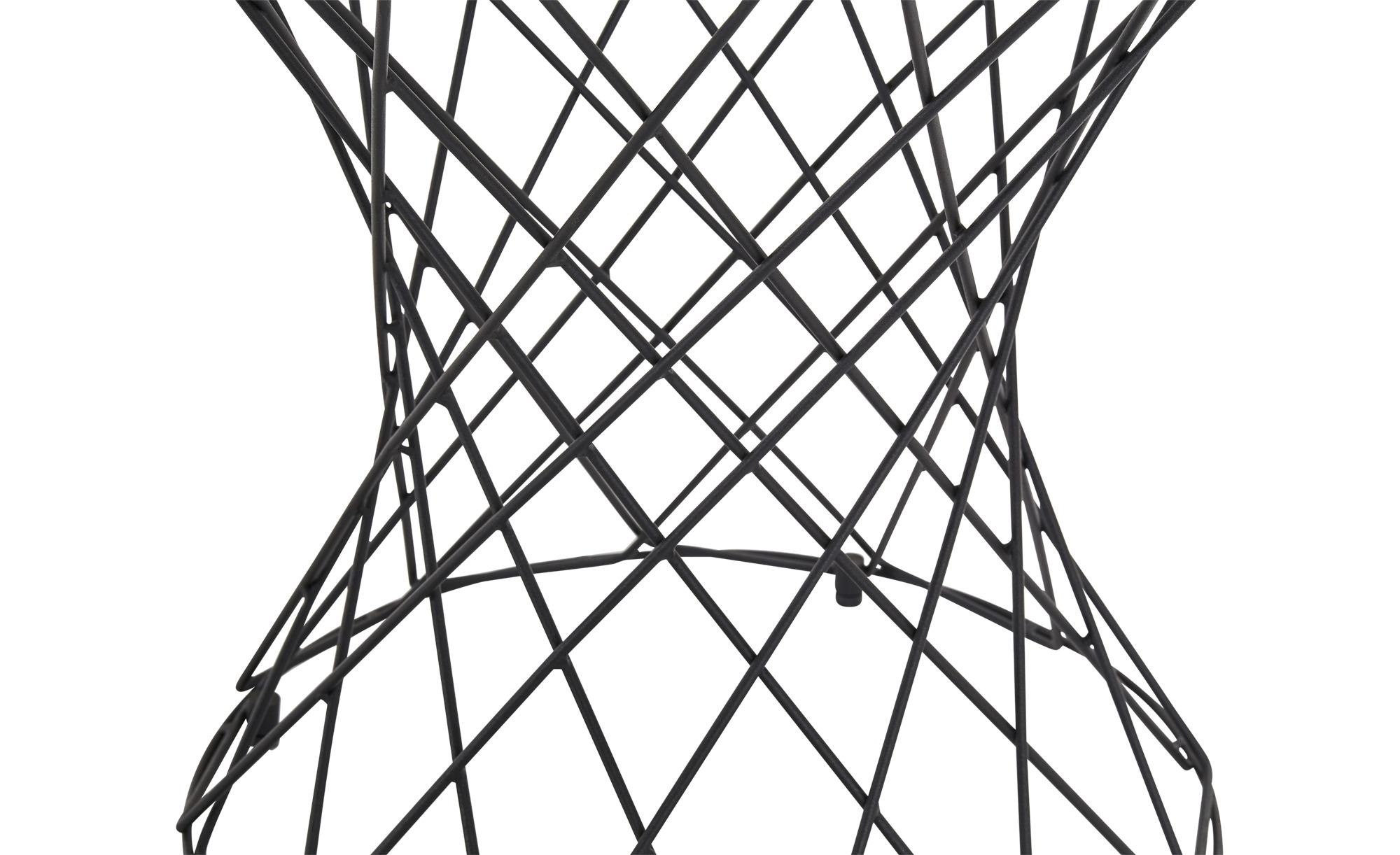 Beistelltisch  Gip II ¦ schwarz ¦ Maße (cm): H: 47 Ø: 50 Tische > Couchtische > Couchtische rund - Höffner