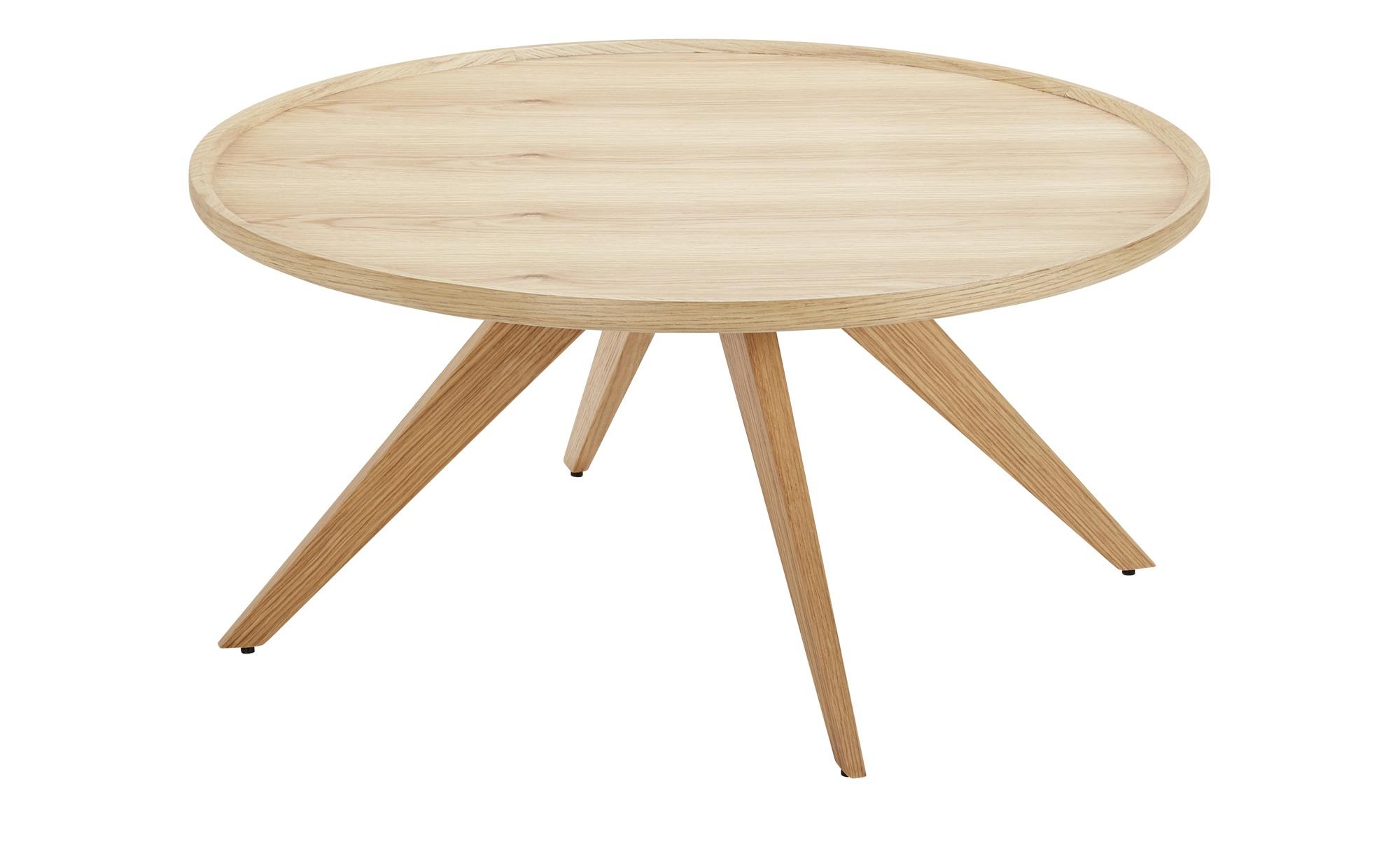 Couchtisch  Glen I ¦ holzfarben ¦ Maße (cm): H: 40 Ø: [85.0] Tische > Couchtische > Couchtische rund - Höffner