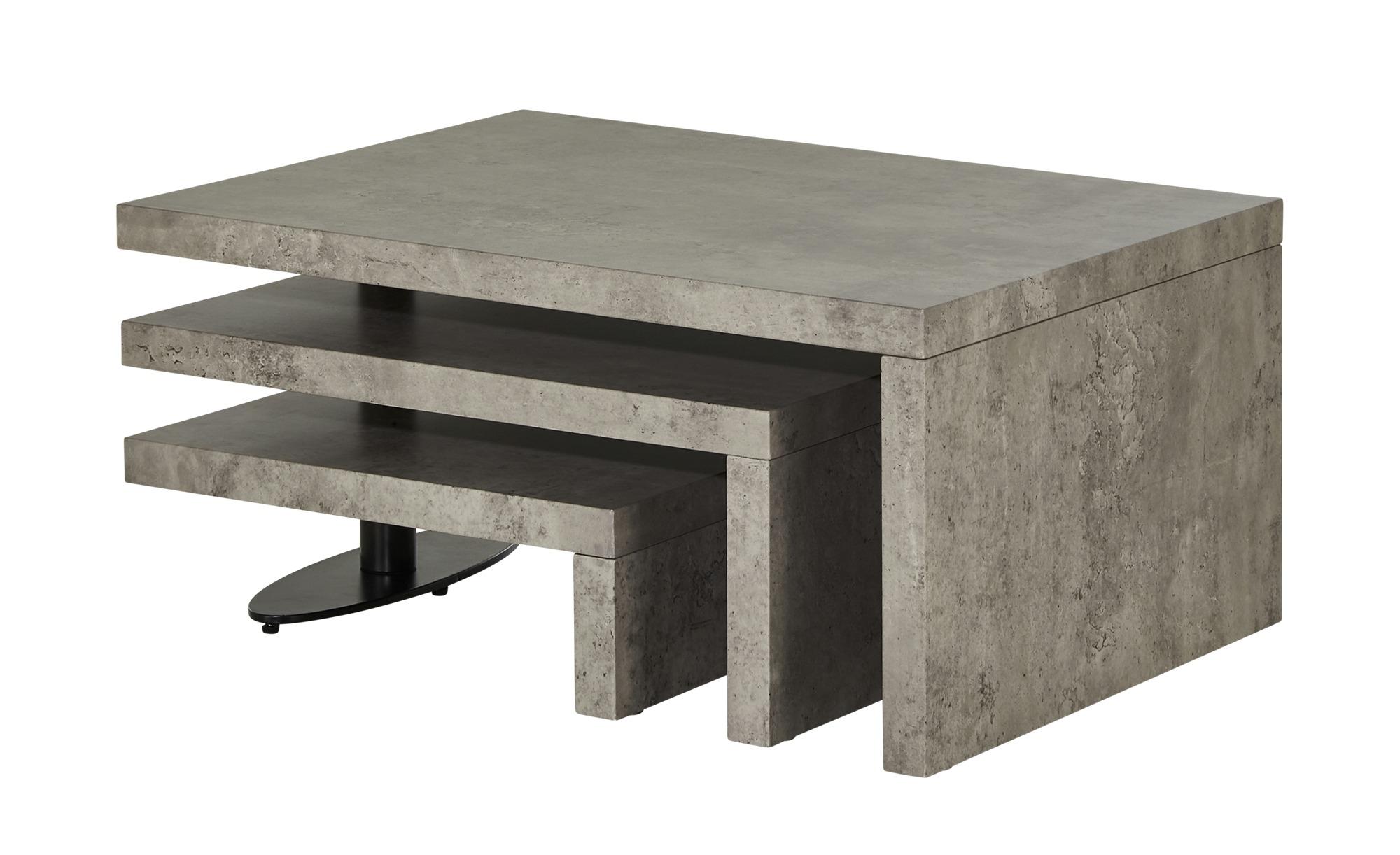 Couchtisch  Tremiti ¦ grau ¦ Maße (cm): B: 60 H: 38 Tische > Couchtische > Couchtische rechteckig - Höffner