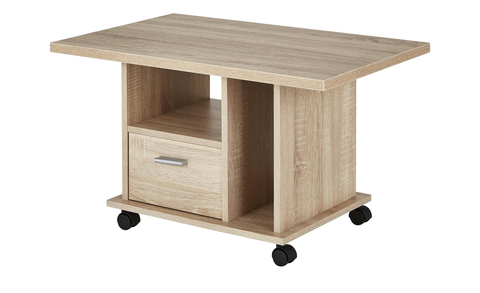 Couchtisch  Vito ¦ holzfarben ¦ Maße (cm): B: 50 H: 46 T: 50 Tische > Couchtische > Couchtische rechteckig - Höffner