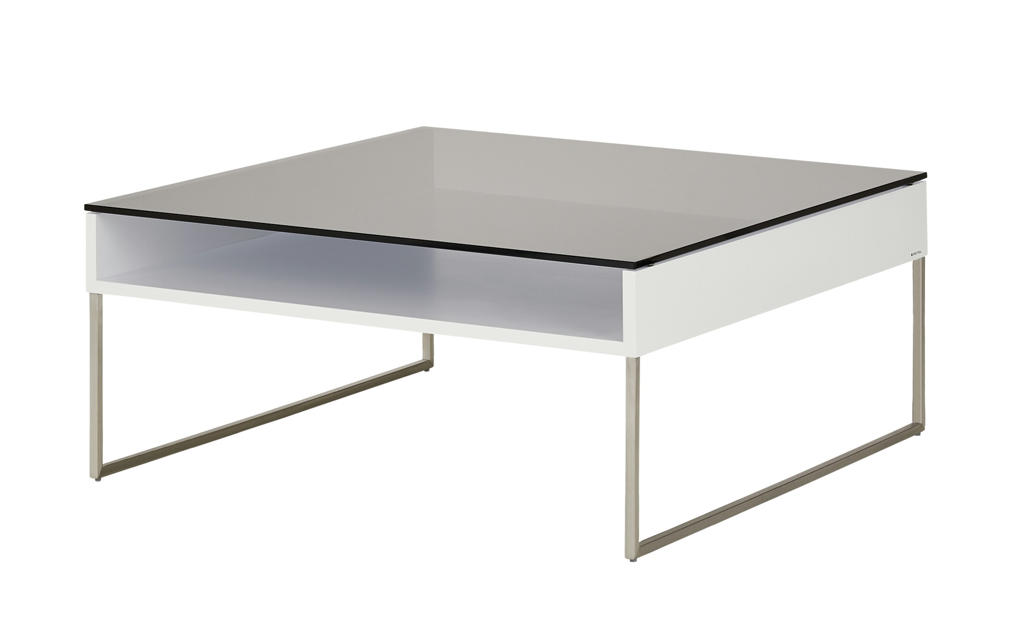 SPECTRAL Couchtisch  Tables ¦ weiß ¦ Maße (cm): B: 90 H: 40 T: 90 Tische > Couchtische > Couchtische rechteckig - Höffner