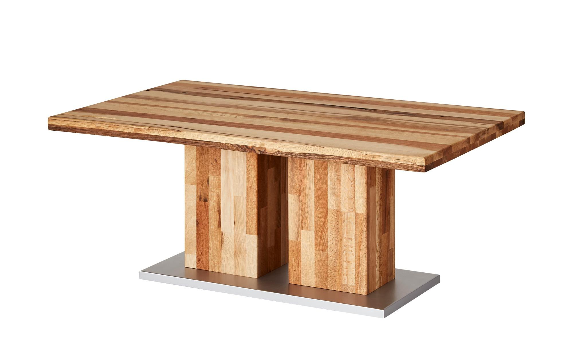 Couchtisch  Mangole ¦ holzfarben ¦ Maße (cm): B: 75 H: 50 T: 75 Tische > Couchtische > Couchtisch Massivholz - Höffner