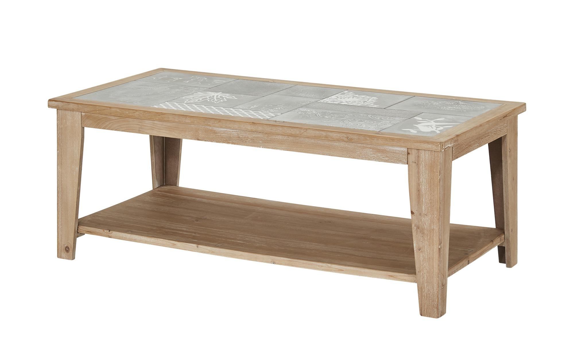 Couchtisch  Piastrella ¦ holzfarben ¦ Maße (cm): B: 60 H: 46 Tische > Couchtische > Couchtische rechteckig - Höffner